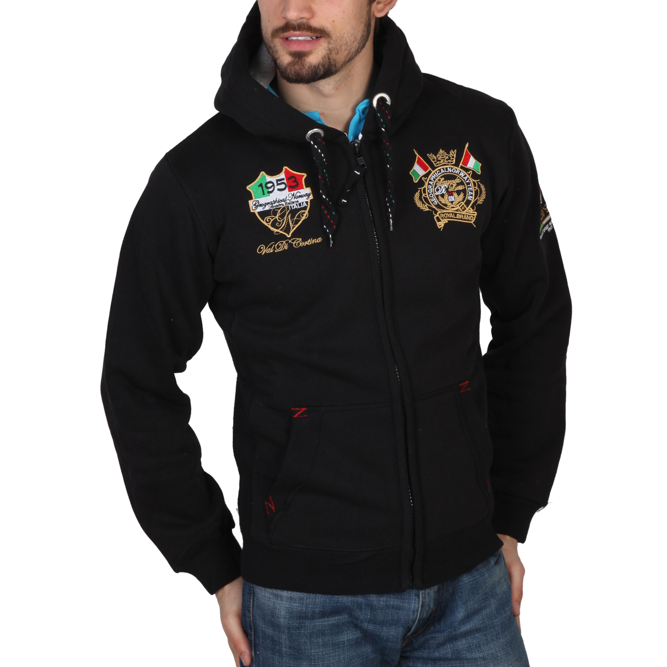 Geographical Norway Gruger Uomo Nero 41394
