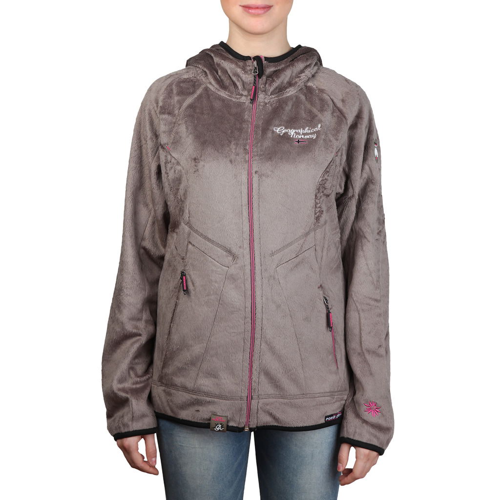 Hanorac Geographical Norway Talking_woman_taupe