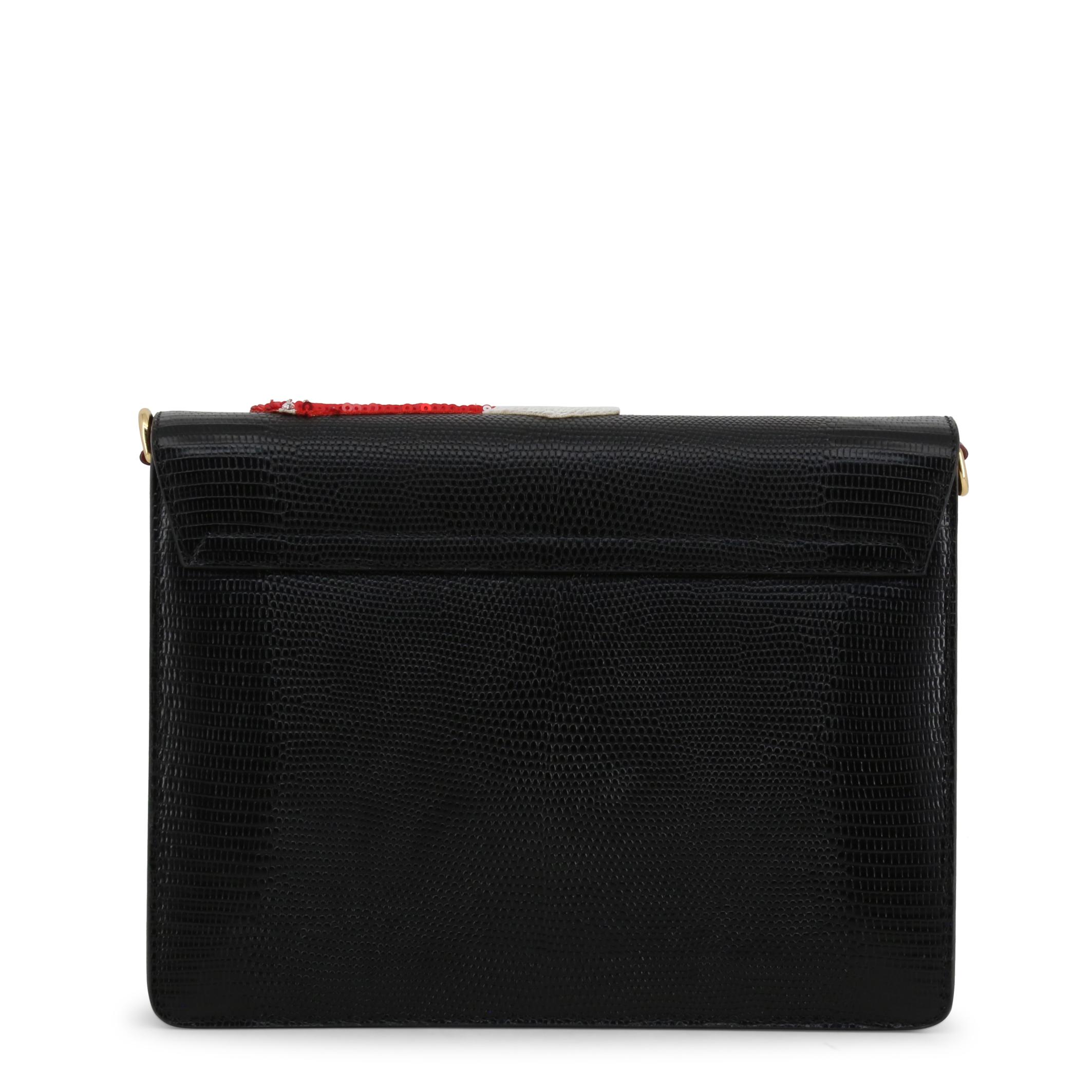 Borse-a-tracolla-Dolce-amp-Gabbana-BB631AAS4768-Donna-Nero-100109 miniatura 3