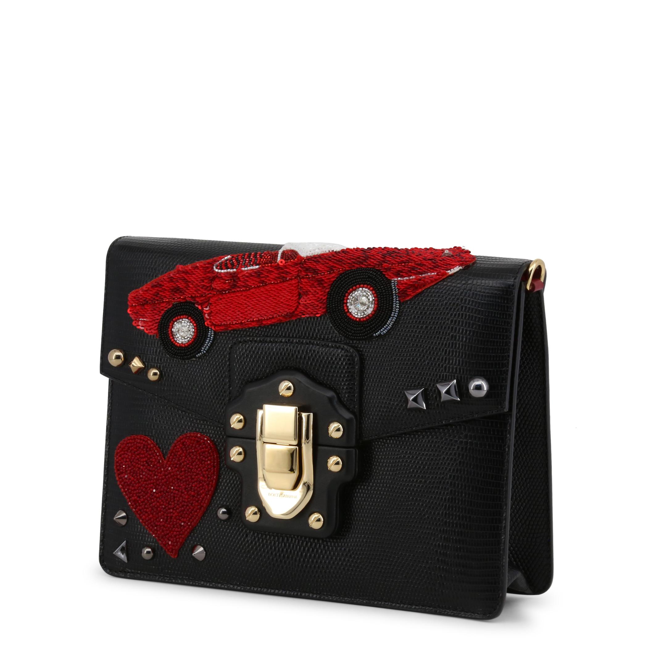 Borse-a-tracolla-Dolce-amp-Gabbana-BB631AAS4768-Donna-Nero-100109 miniatura 2