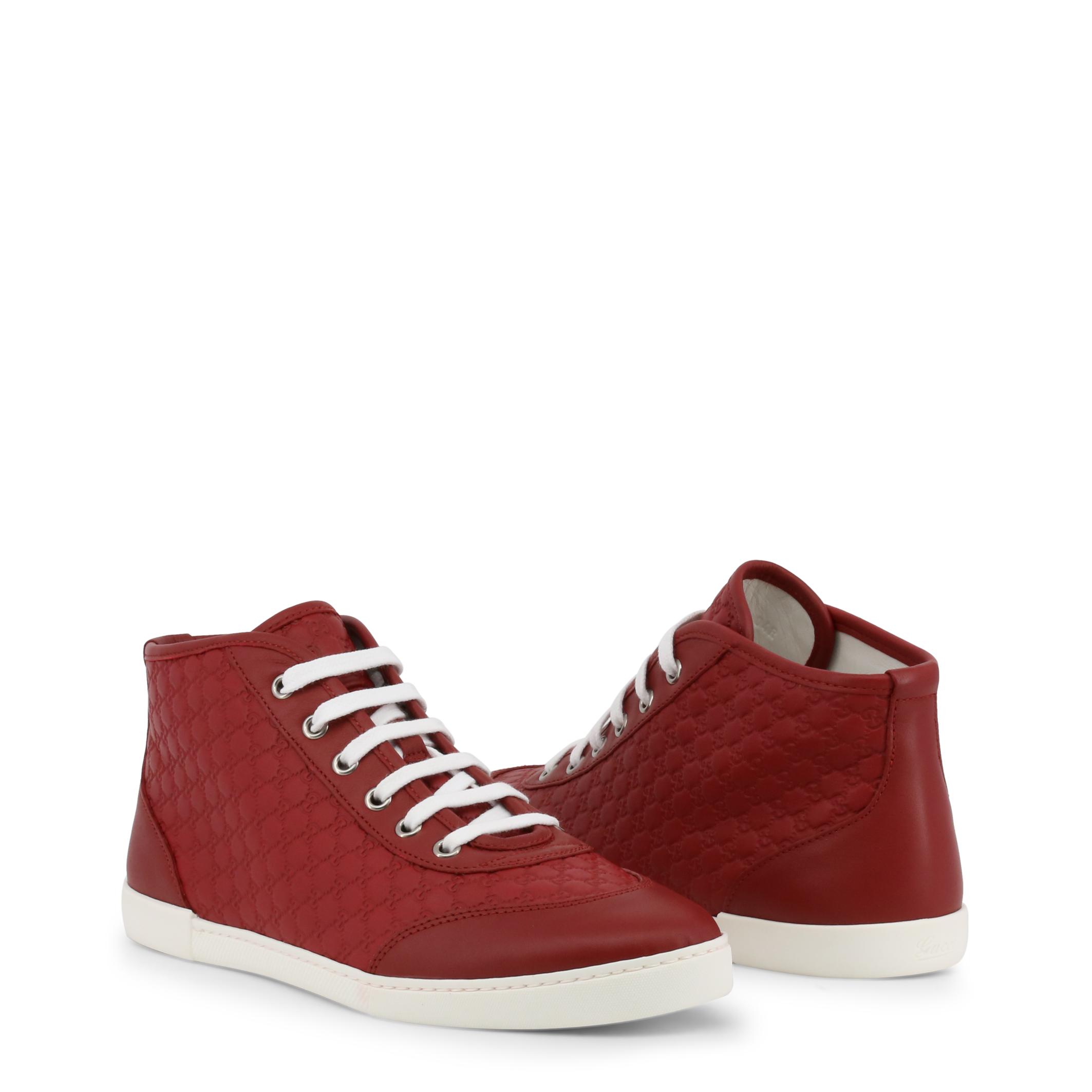 Sneakers-Gucci-391499-A9LF0-Donna-Rosso-100173 miniatura 2