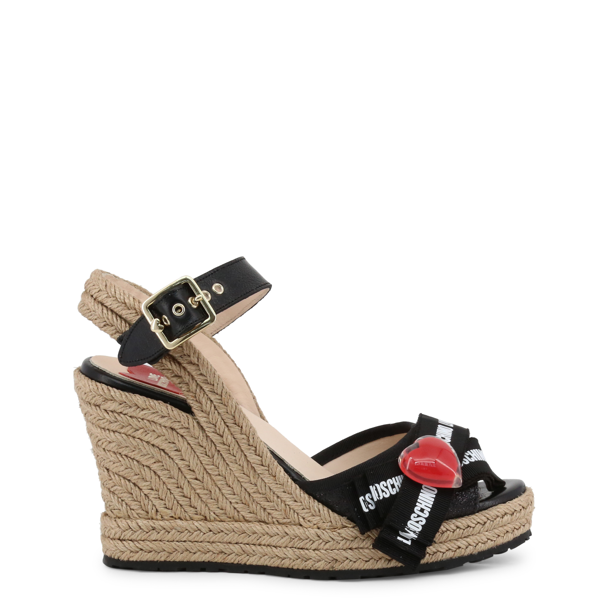 New Womens Superdry Grey Anna Wedge Synthetic Sandals Espadrilles Buckle Straps