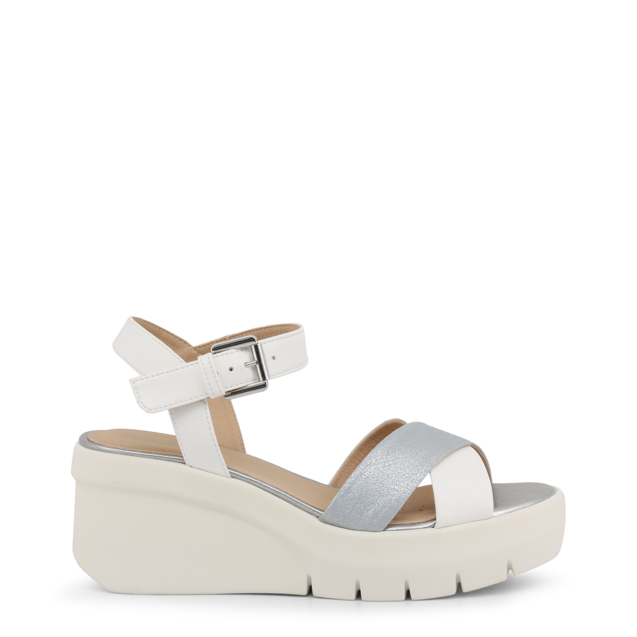 Zeppe Geox TORRENCE Donna Bianco 100579