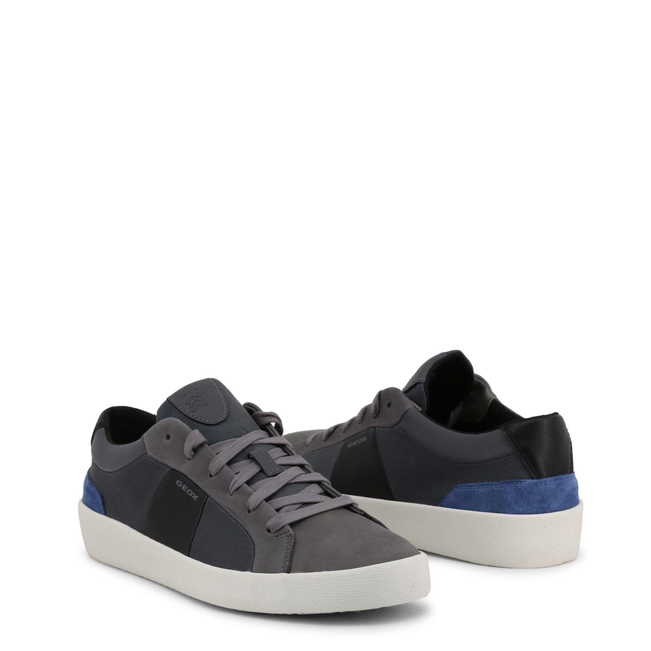 Sneakers-Geox-WARLEY-Uomo-Grigio-100592 miniatura 2