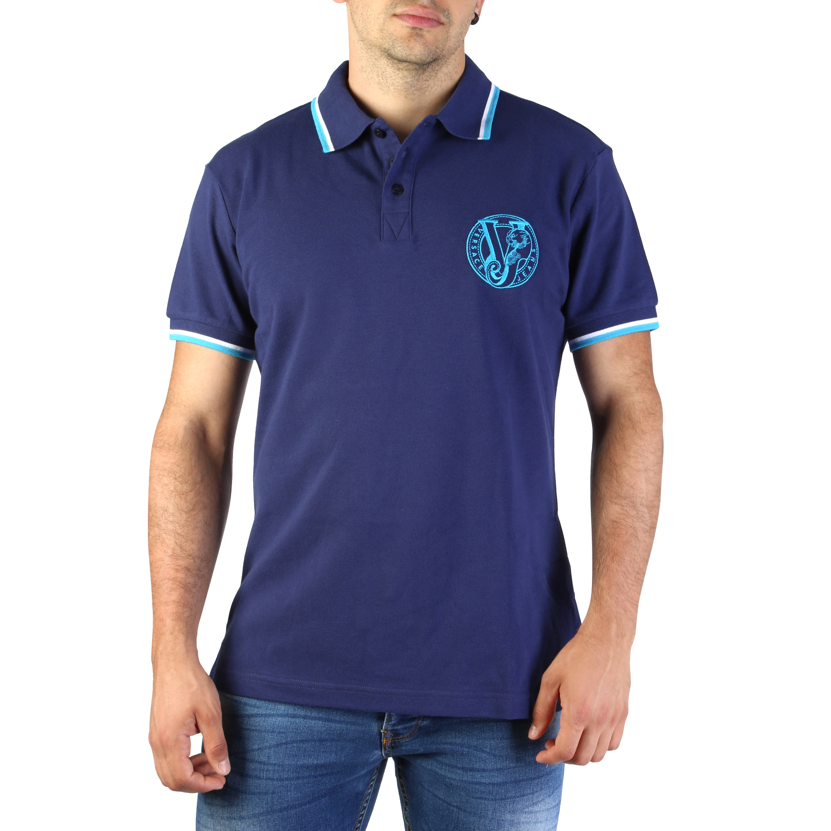 Versace Jeans B3GTB7P0_36571 Uomo Blu 101081Versace Jeans