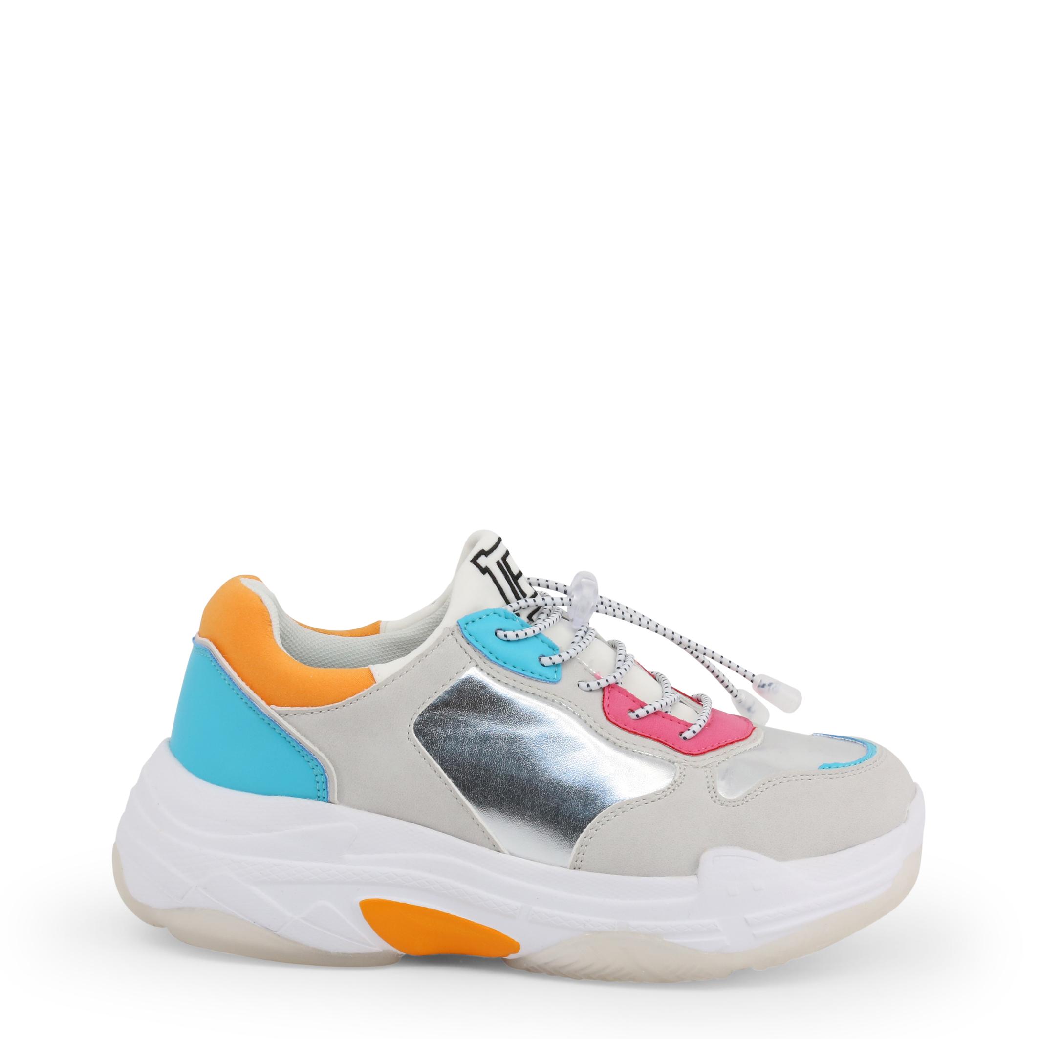 Acheter Pas Cher Sneakers Donna Laura Biagiotti 5713-19 Donna Grigio 102413 Originale Nuovo