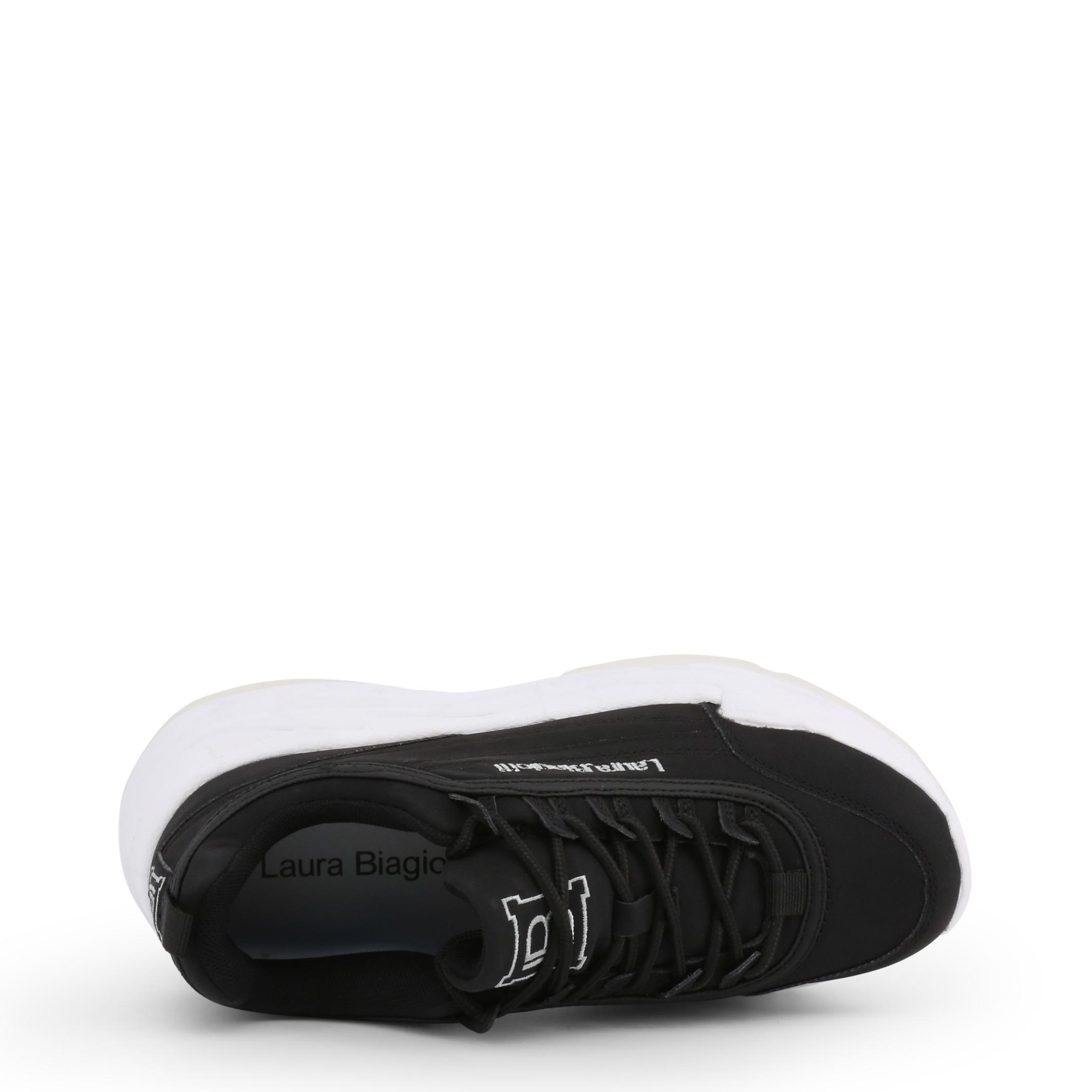 Sneakers-Laura-Biagiotti-5714-19-Donna-Nero-102414 miniatura 3