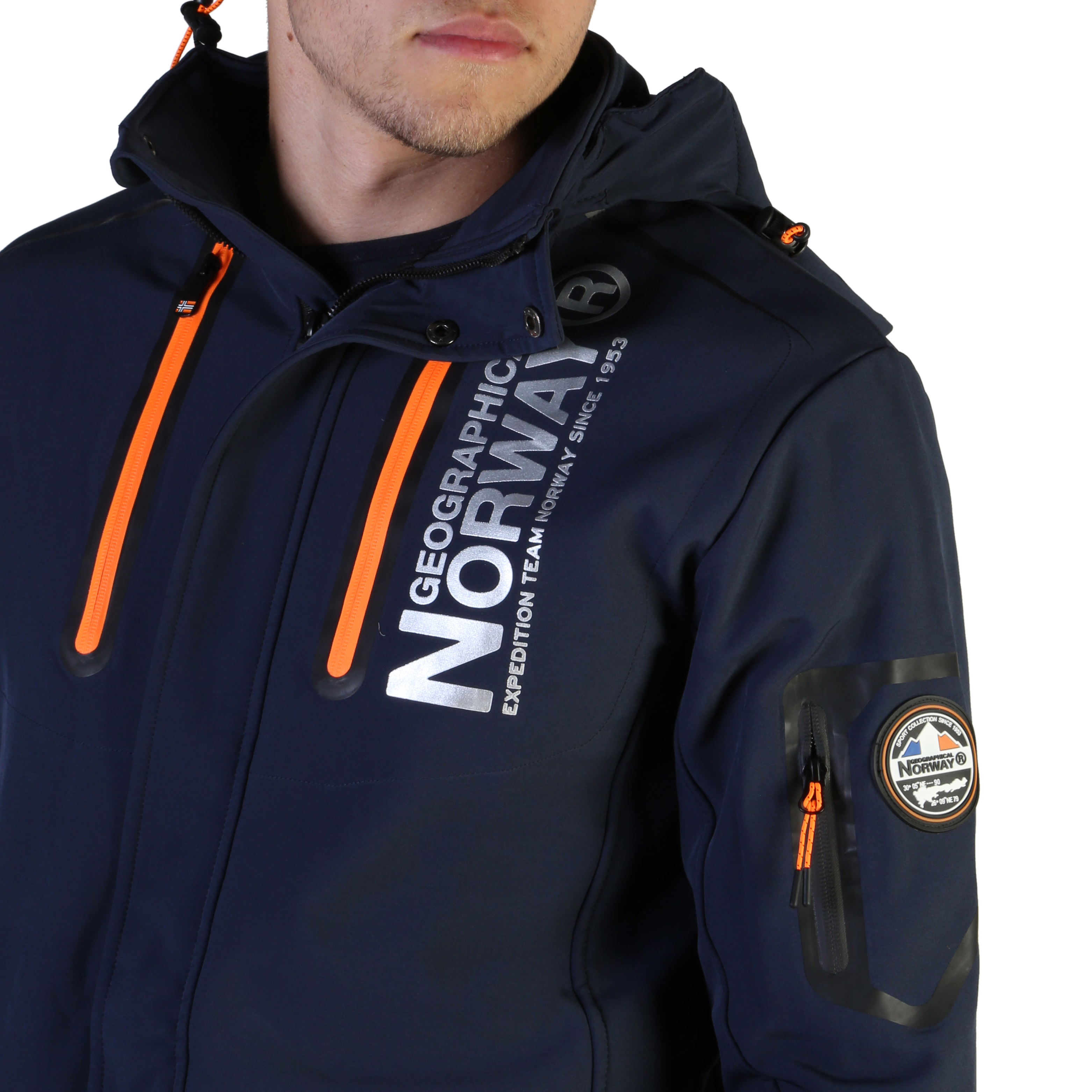 Giacche Geographical Norway Tyreek_man Uomo Blu 102563
