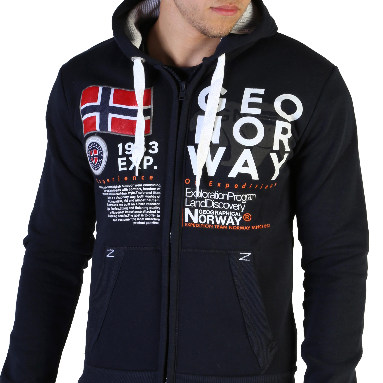 Felpe Geographical Norway Gasado_man Uomo Blu 102594