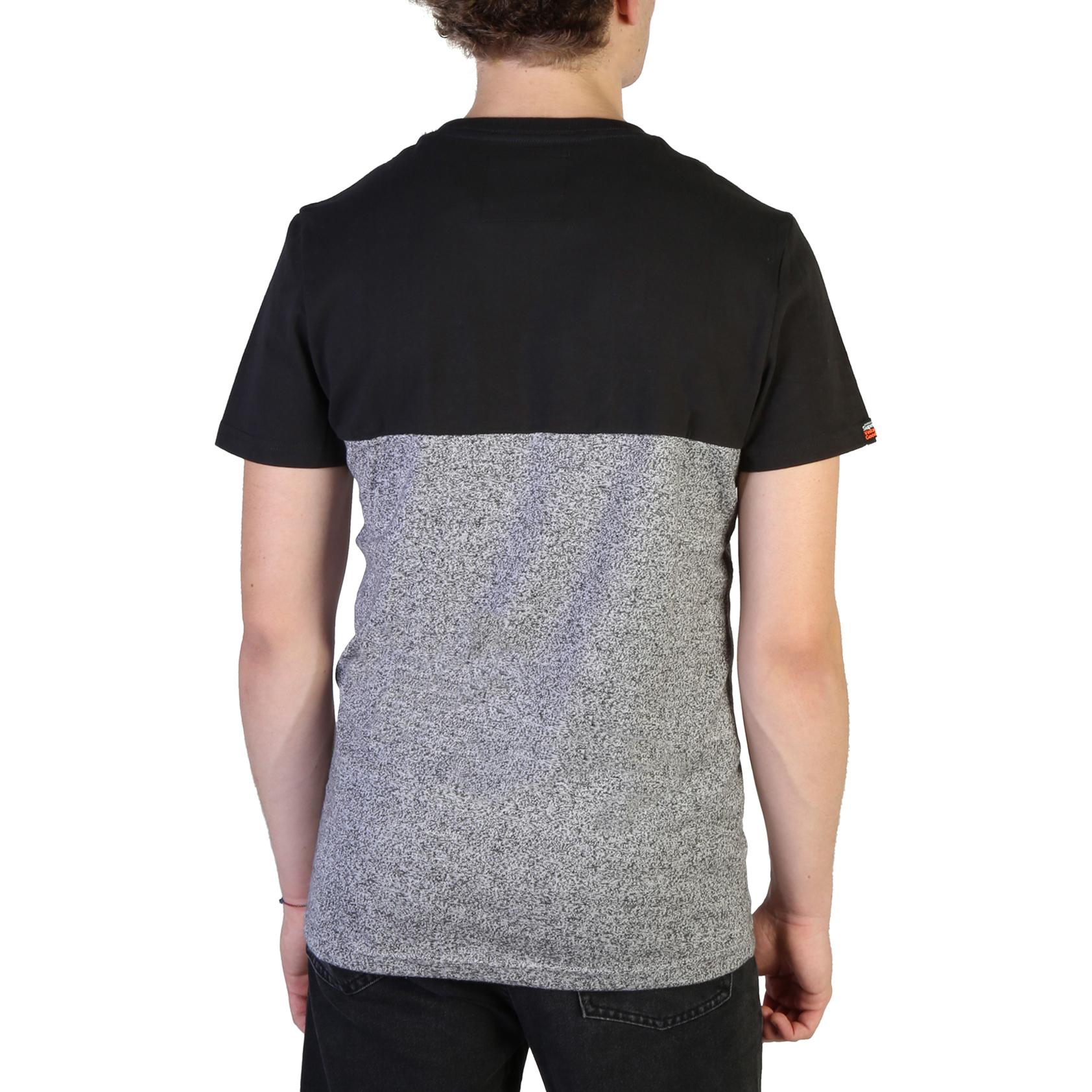 T-shirt-Superdry-M1000034B-Uomo-Nero-103714 miniatura 2