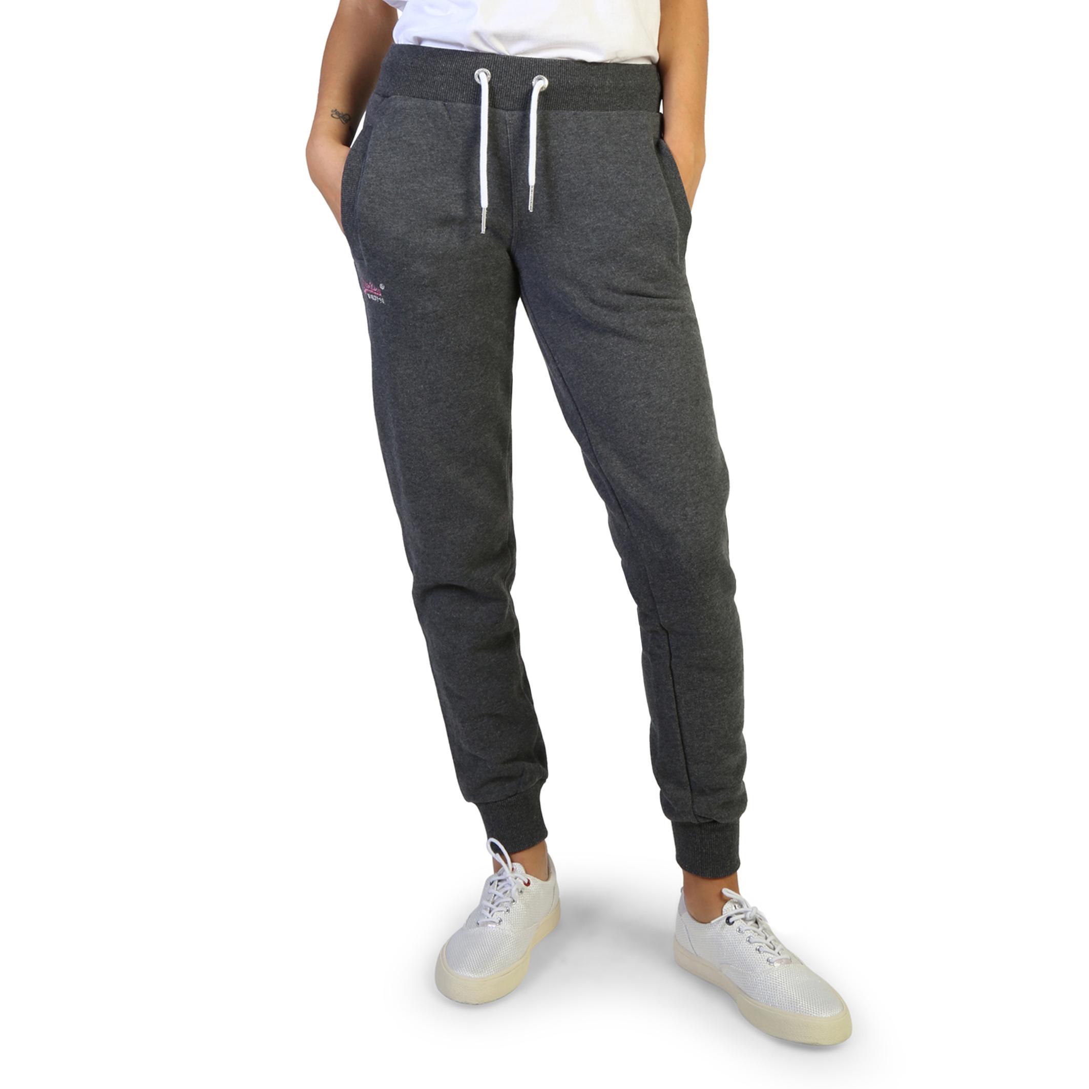 Pantaloni tuta Superdry G70023NS Donna Grigio 103766