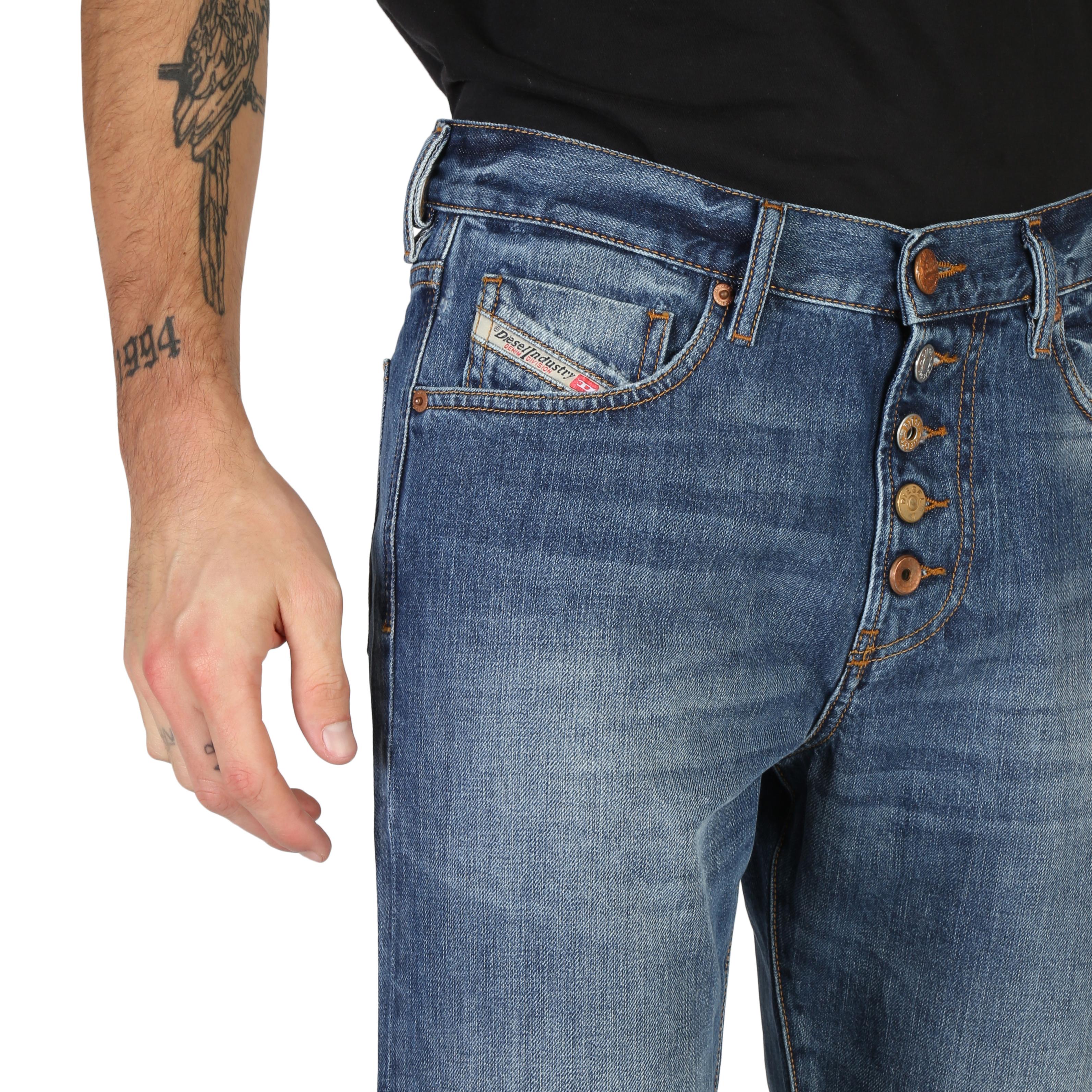 Jeans-Diesel-MHARKY-B-L32-00SKTN-085AG-01-Uomo-Blu-103843 miniatura 3
