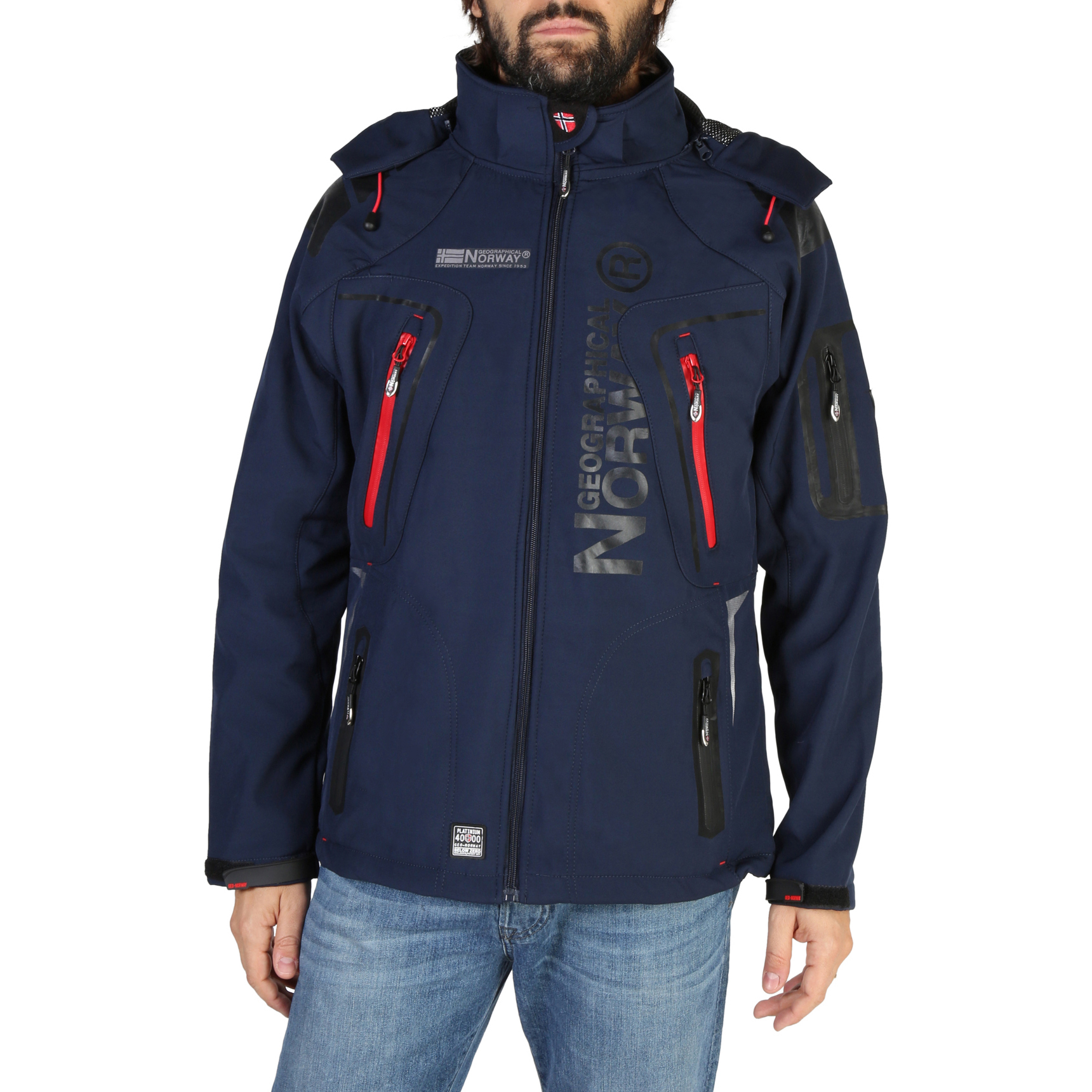Giacche Geographical Norway Turbo_man Uomo Blu 103869