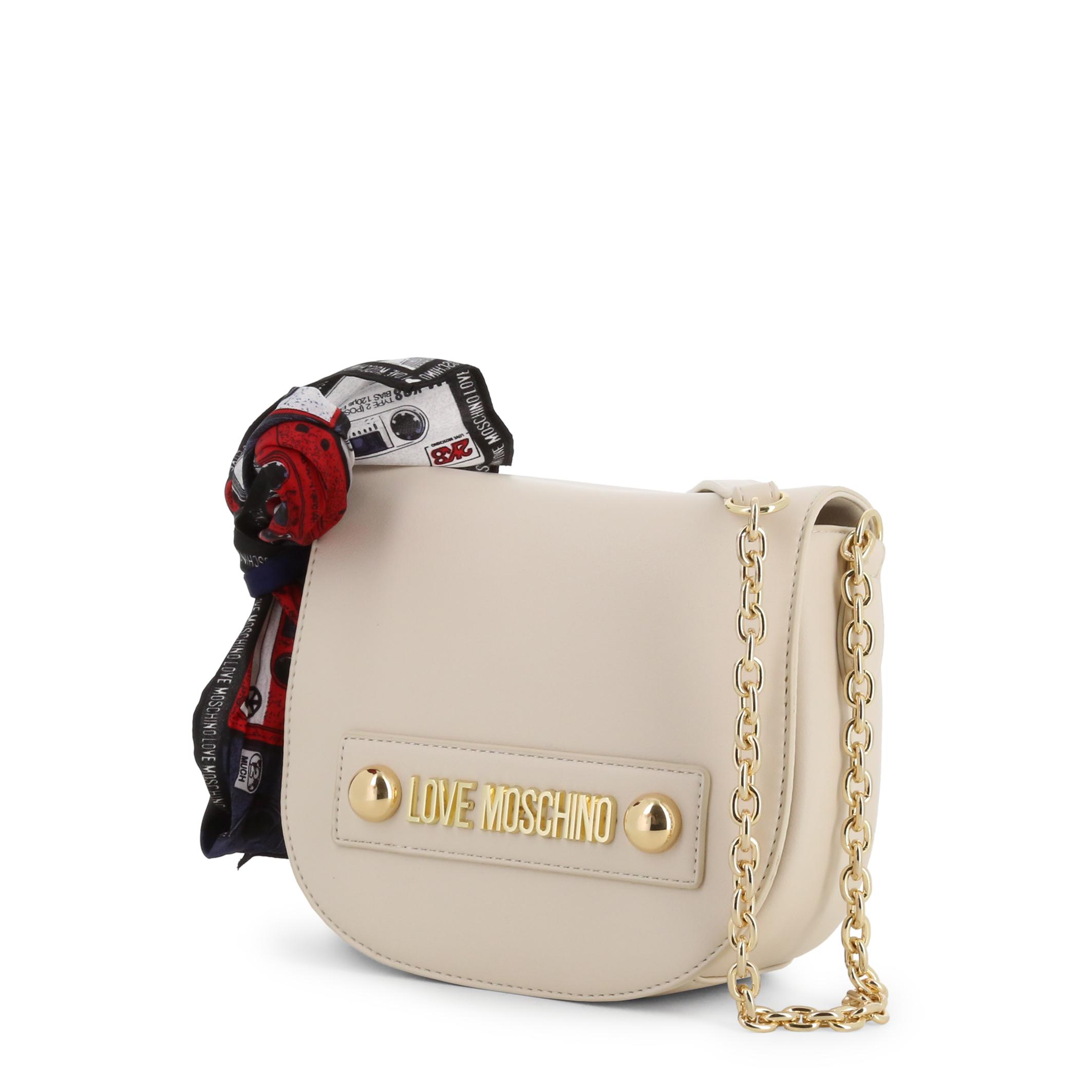 Love Moschino Women/'s Crossbody Bag In White NOSIZE