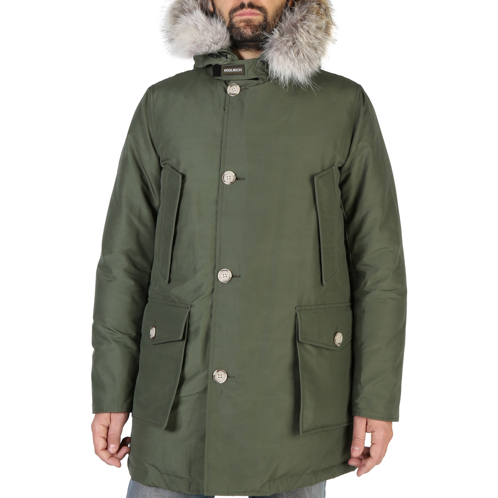 Giacche Woolrich WOCPS2880 Uomo Verde 104046