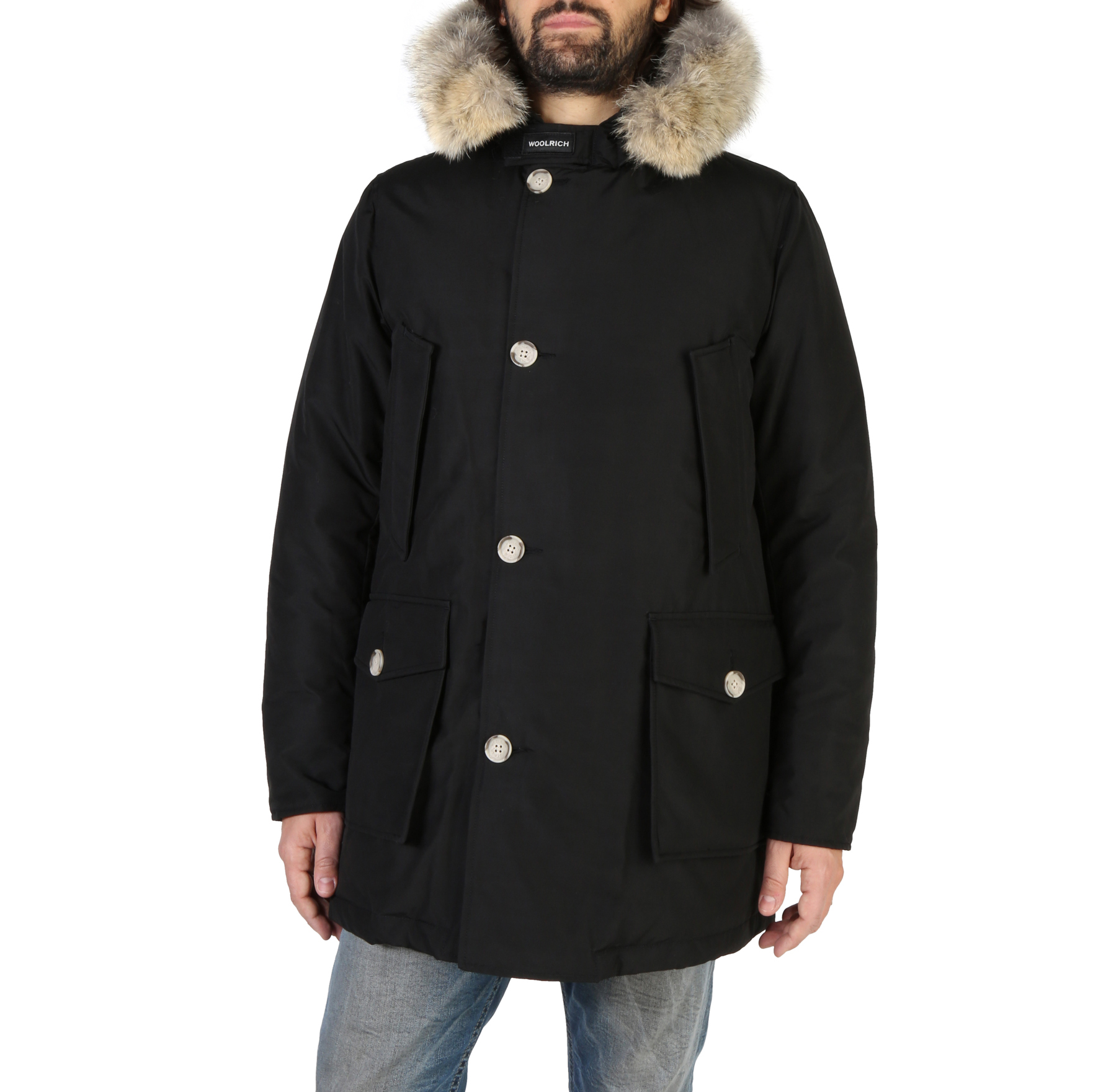 Giacche Woolrich WOCPS2880 Uomo Nero 104049