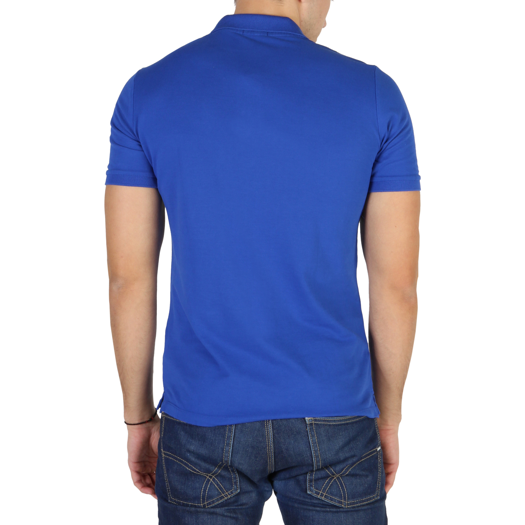 Polo-Calvin-Klein-J3EJ303832-Uomo-Blu-104158-Abbigliamento-Uomo-Calvin-Klein miniatura 2