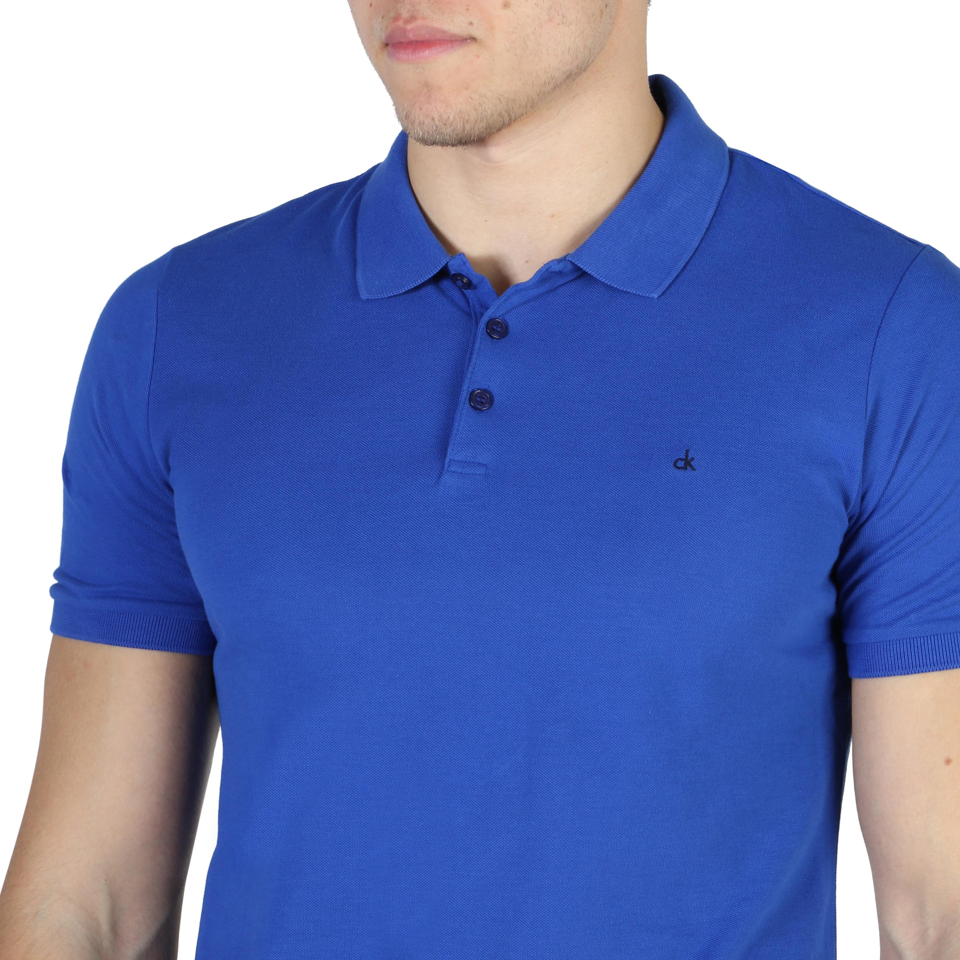Polo-Calvin-Klein-J3EJ303832-Uomo-Blu-104158-Abbigliamento-Uomo-Calvin-Klein miniatura 3