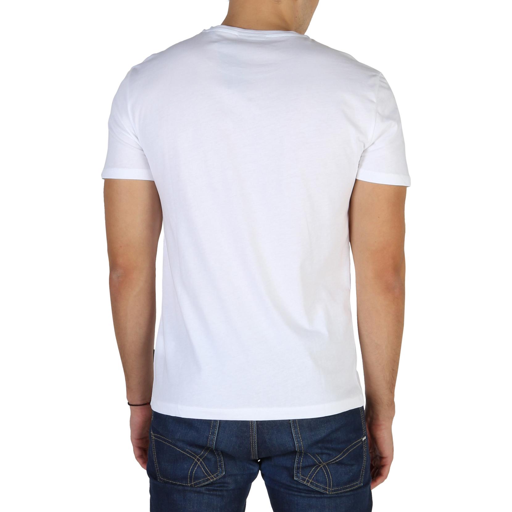 T-SHIRT-Calvin-Klein-K10K100410-Uomo-Bianco-104182-CASUAL-VINTAGE miniatura 2