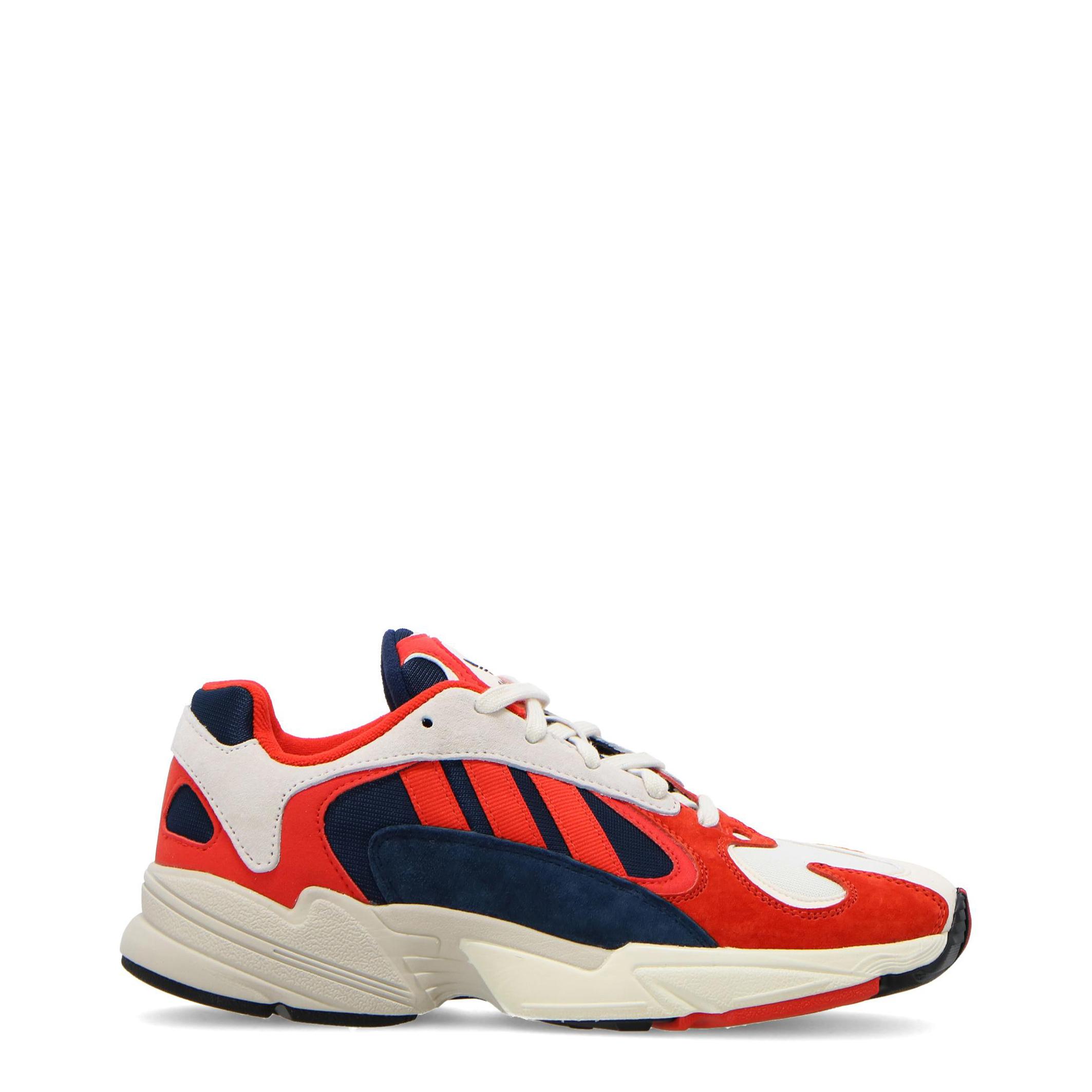 9927 Adidas Yung-1 Uomo Rosso 104264 Adidas