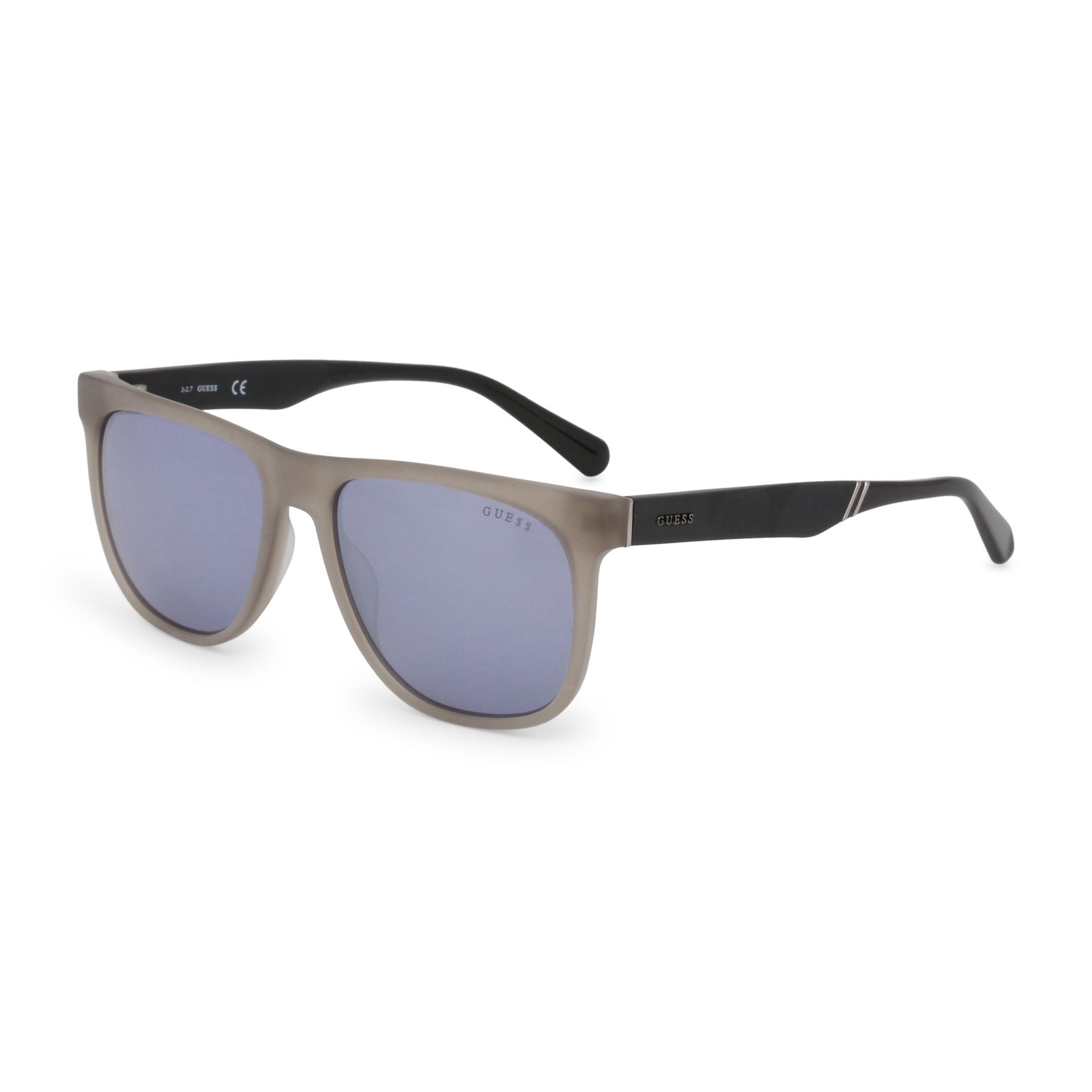 Guess-Unisex-Accessoires-moderne-Designer-Sonnenbrille-Sonnenbrillen-Grau-Sungla