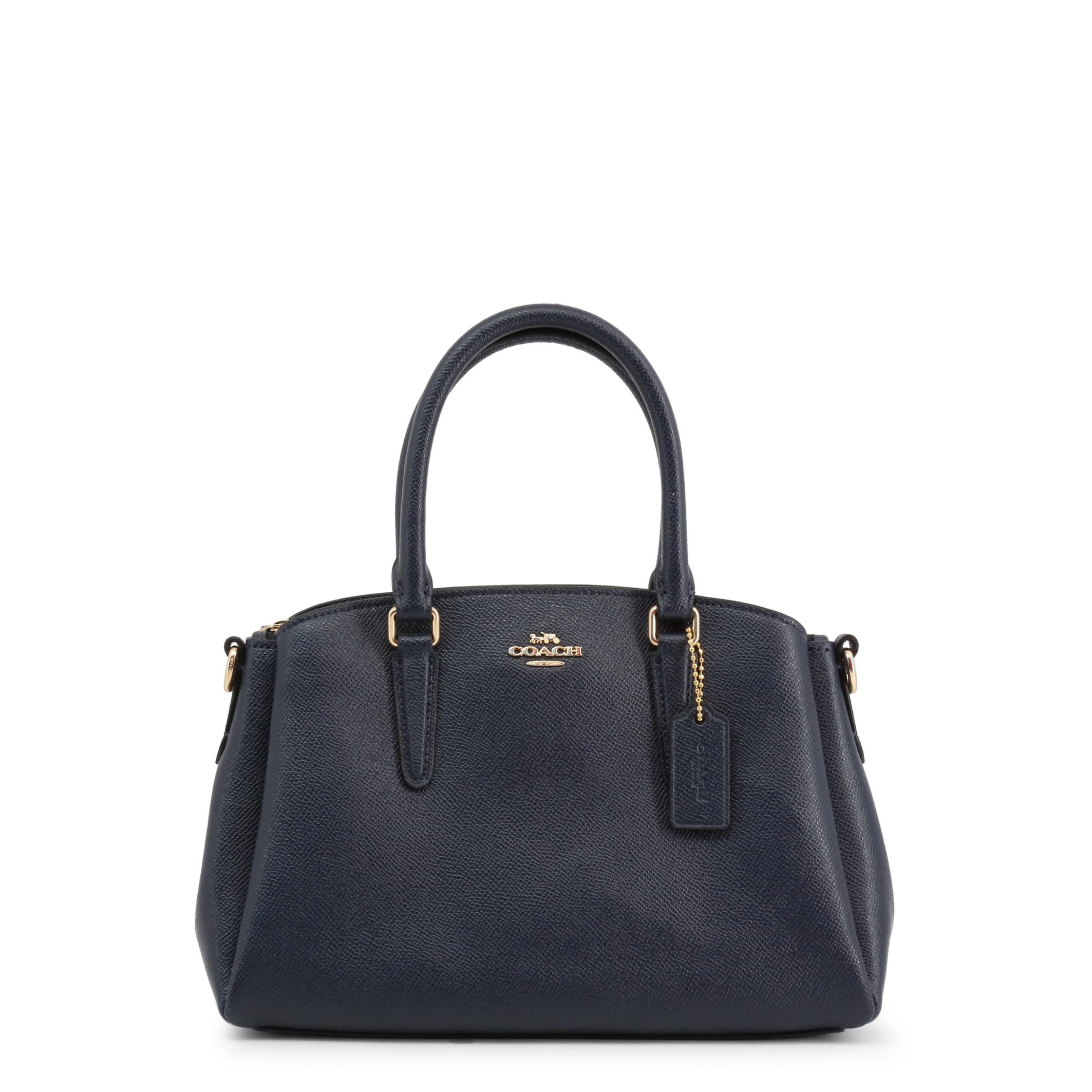 Bolso de mano de Mujer Coach Azul Cuero