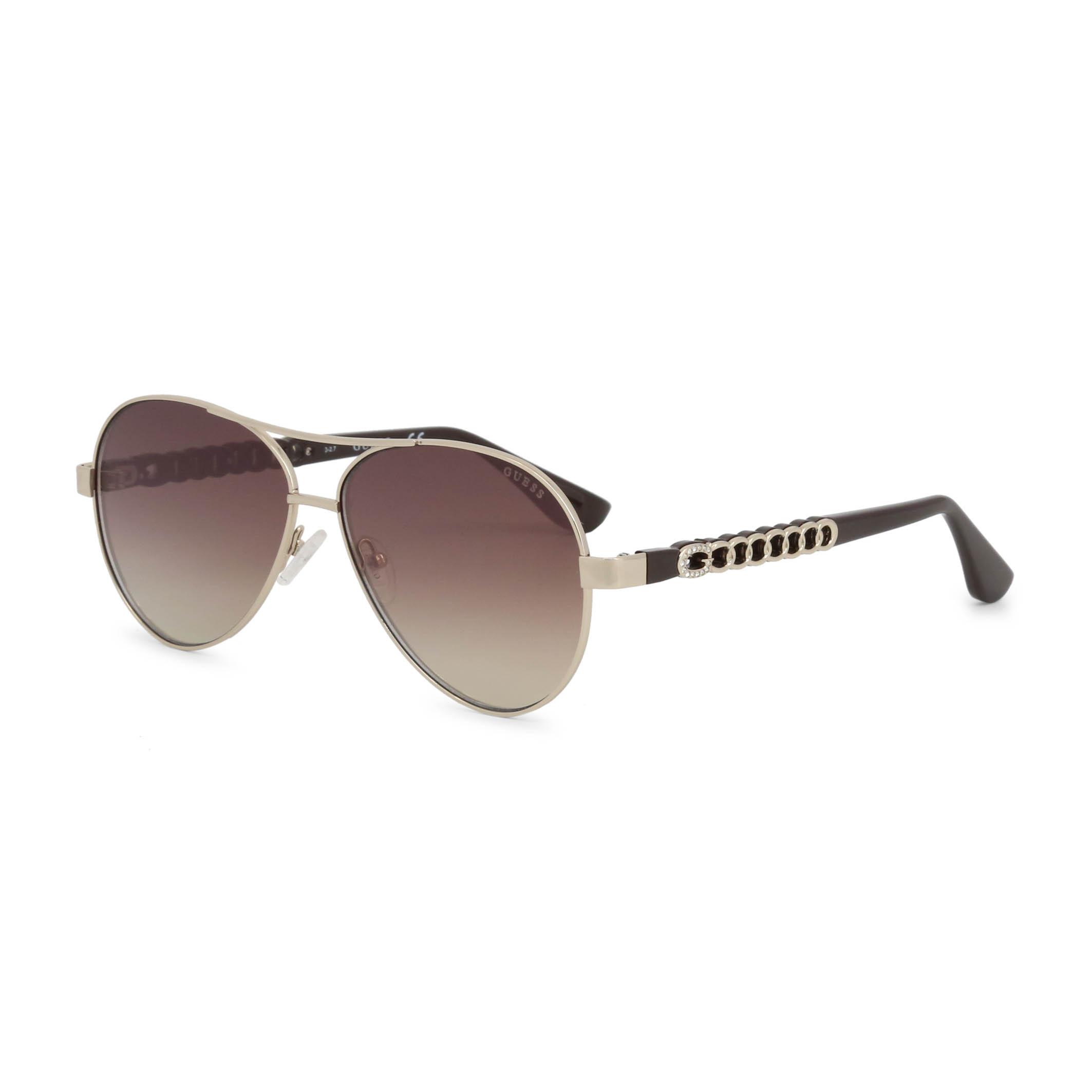 Guess-Unisex-Accessoires-moderne-Designer-Sonnenbrille-Sonnenbrillen-Gelb-Sungla