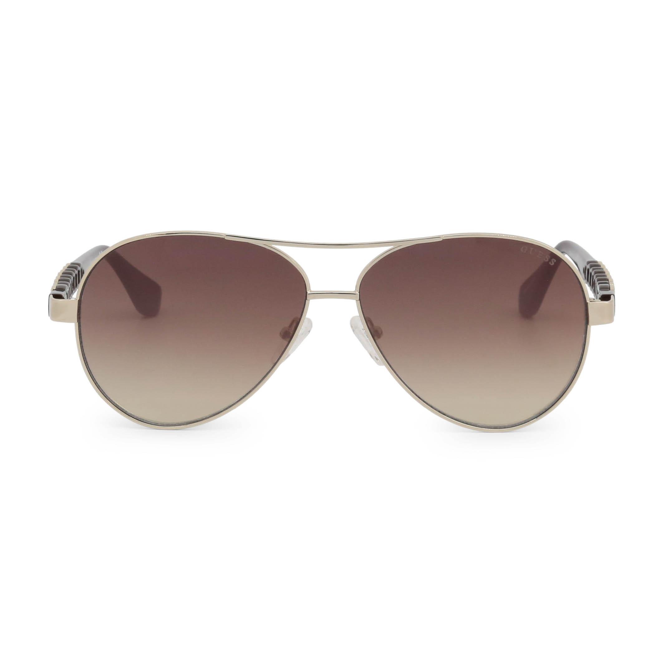 Guess-Unisex-Accessoires-moderne-Designer-Sonnenbrille-Sonnenbrillen-Gelb-Sungla Indexbild 2