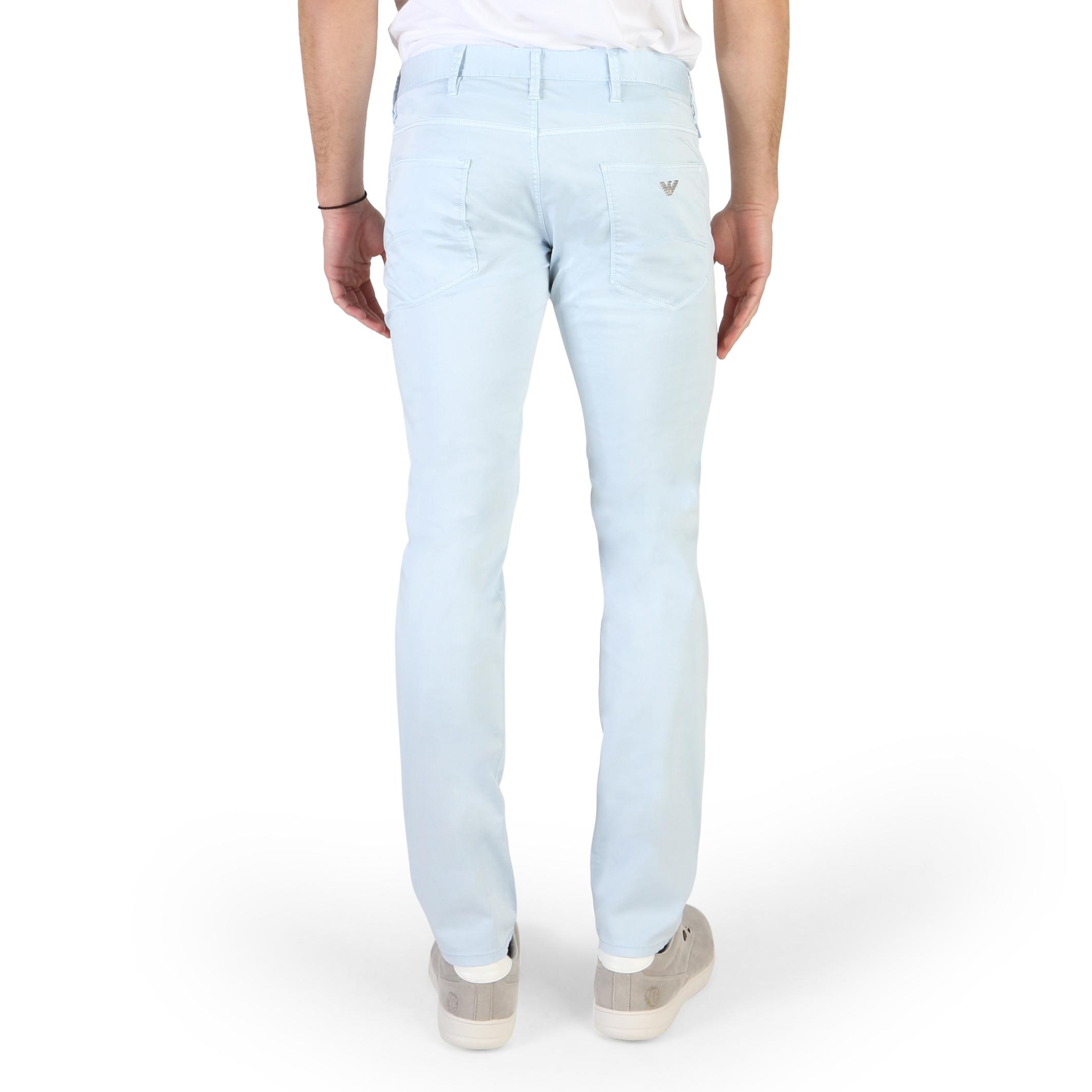 Pantaloni-Armani-Jeans-3Y6J06-6NEDZ-Uomo-Blu-106804 miniatura 2