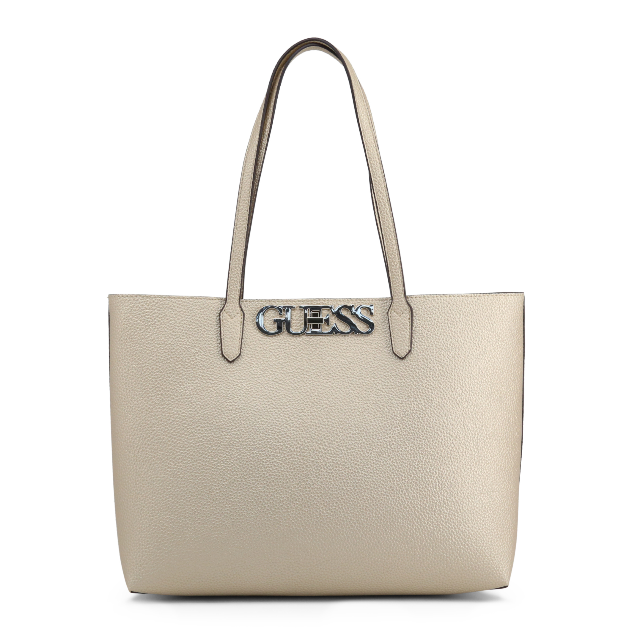 Shopping bag de Mujer Guess Amarillo Poliuretano