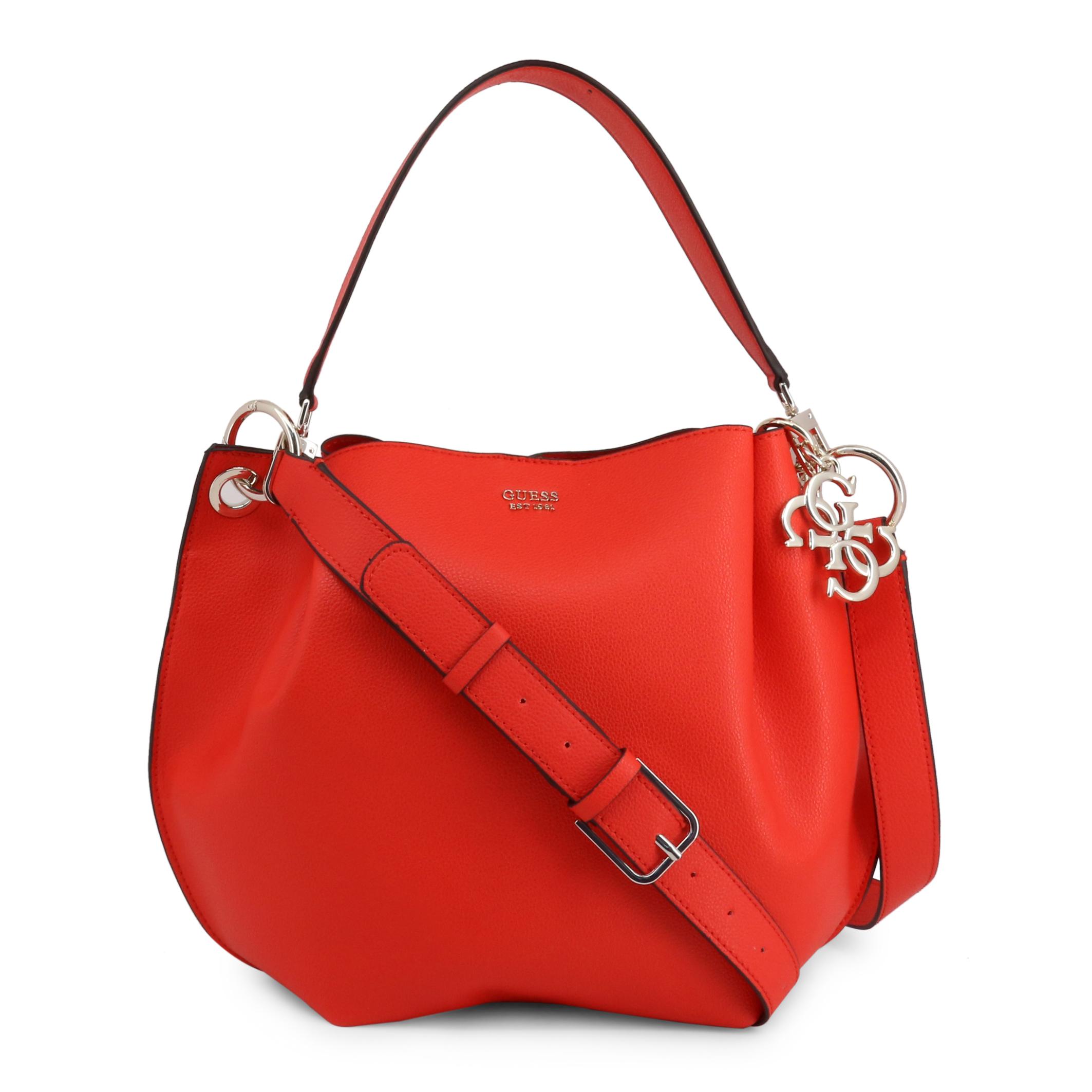 Bolso de hombro de Mujer Guess Rojo Poliuretano