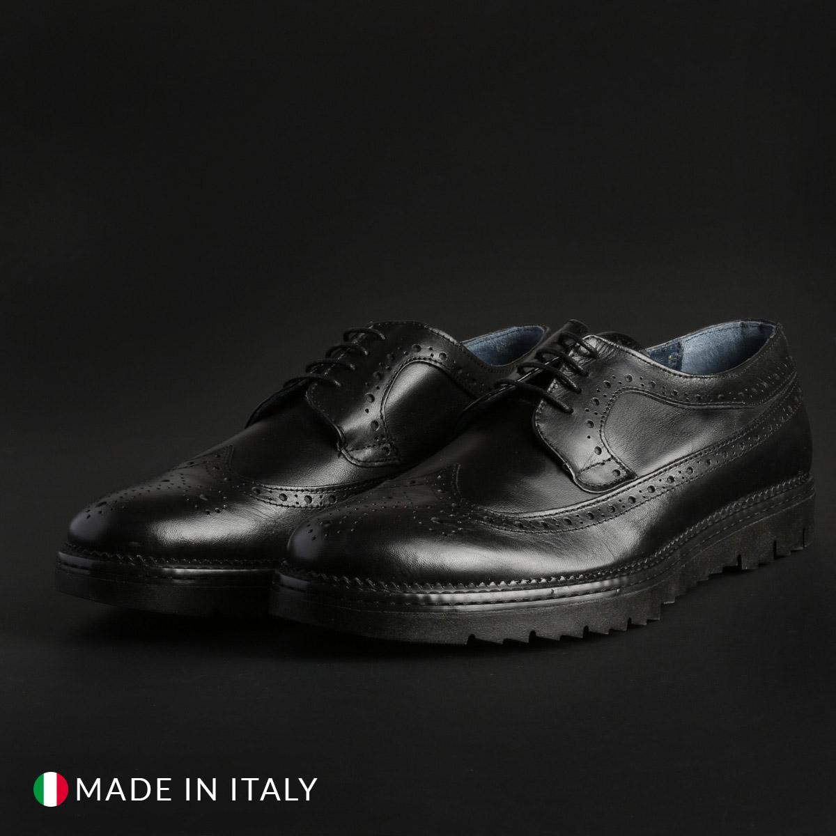 Italian Eagle 300_VITELLO Uomo Nero 108276Italian Eagle