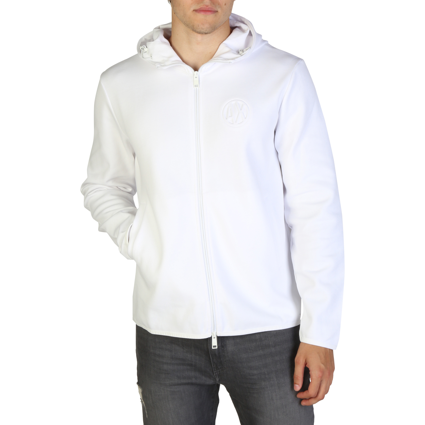 Armani Exchange 3ZZM97ZJQ2Z Uomo Bianco 108474Armani Exchange