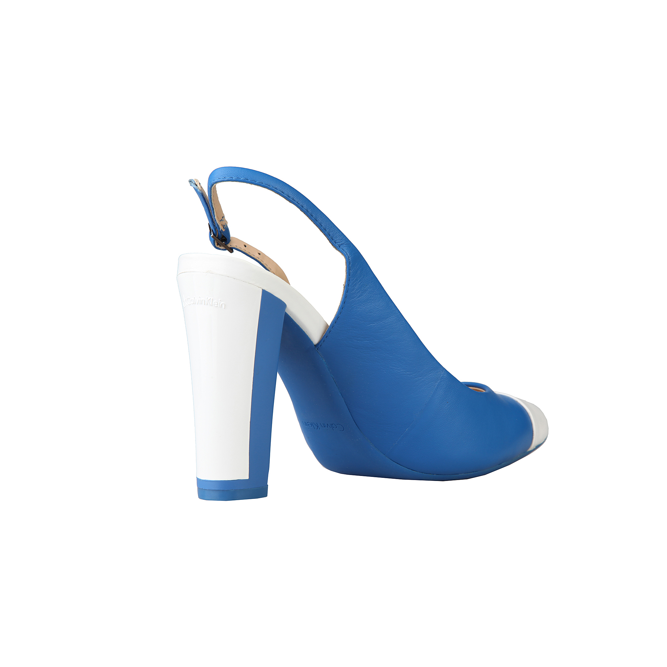Sandali-Calvin-Klein-N11364-Donna-Blu-59326 miniatura 3