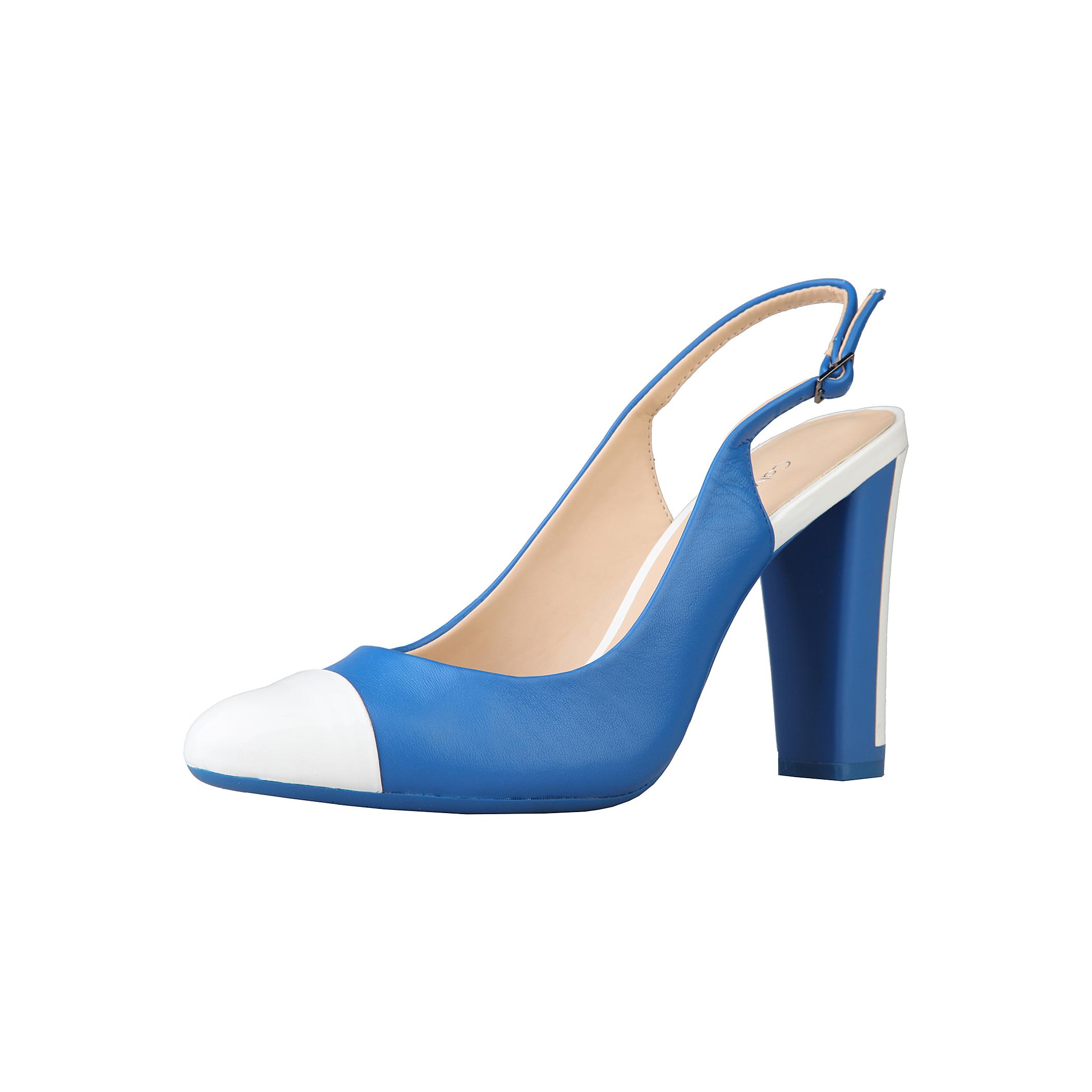 Sandali-Calvin-Klein-N11364-Donna-Blu-59326 miniatura 2