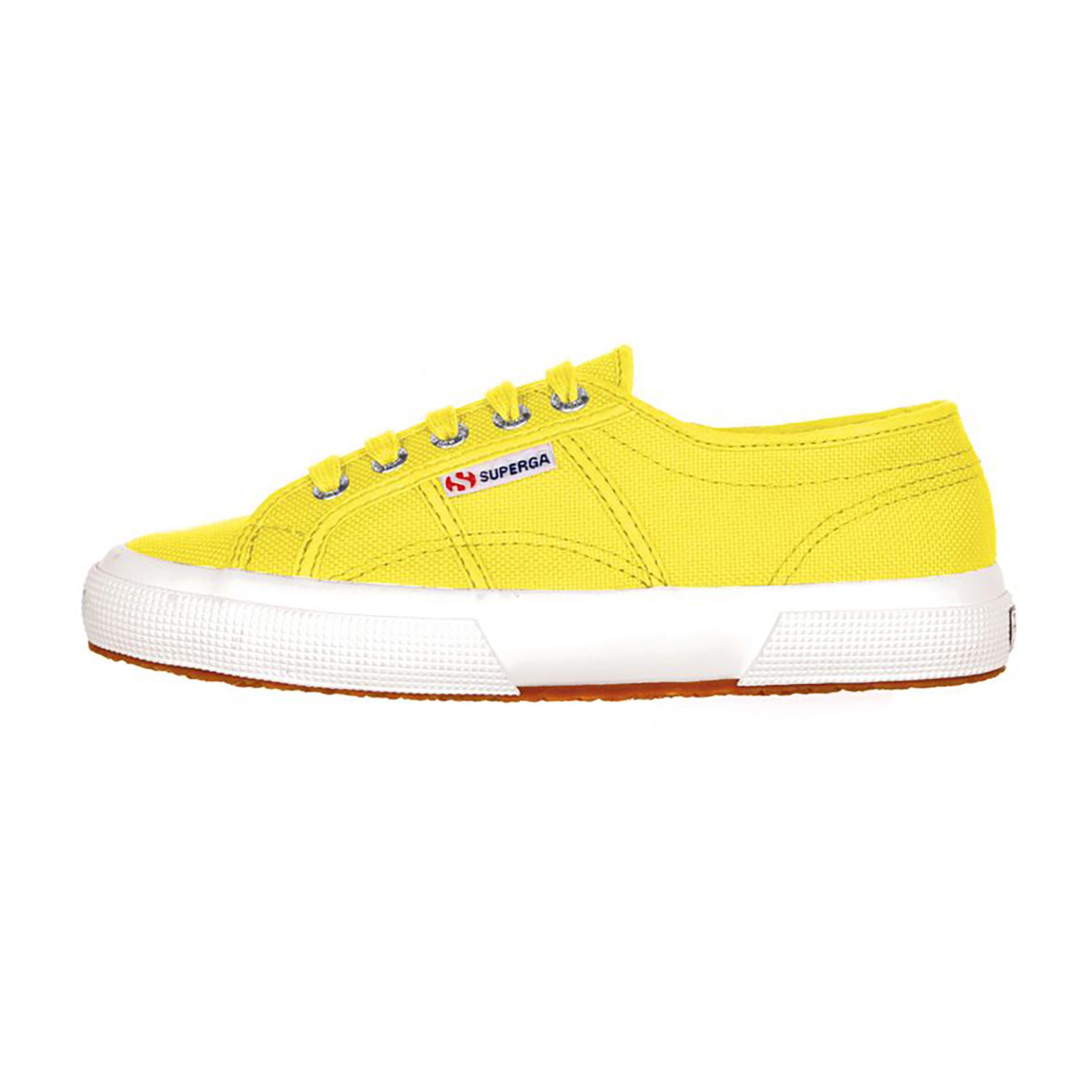 Clásico zapato Superga 2750 unisex: zapato deportivo en lona para hombre y mujer. Con empeine en pur