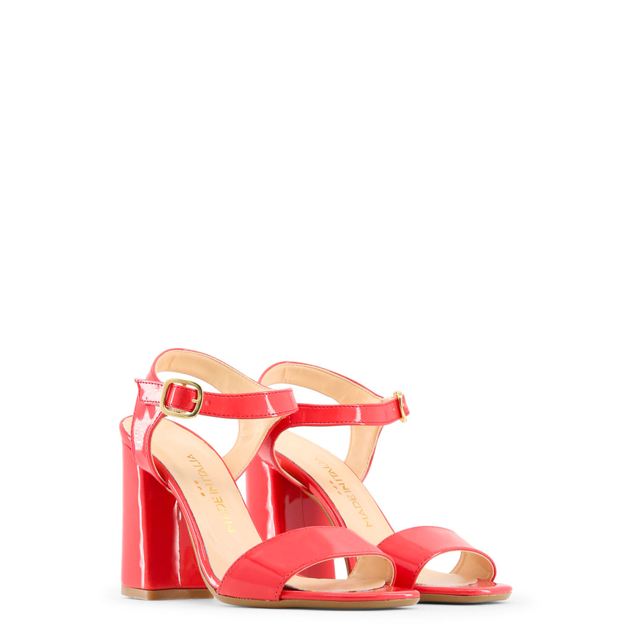 Schuhe ANGELA, ANGELA, Schuhe Damen Sandalette Schwarz/Gelb/Rot Keilabsatz f02e89