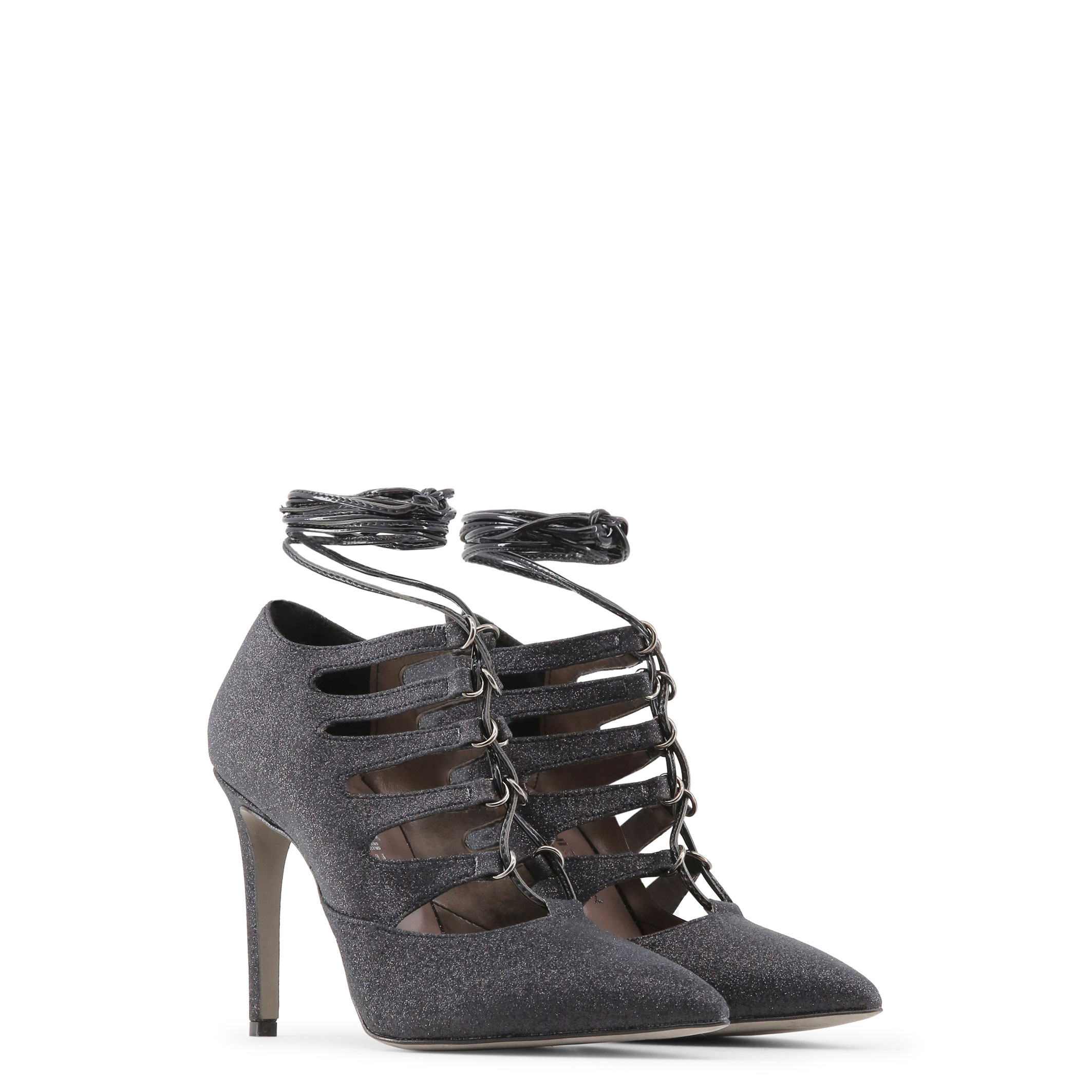 Schuhe MORGANA, Damen Schwarz/Schwarz High Heels Schwarz/Schwarz Damen pumps hochzeit 2d24e1