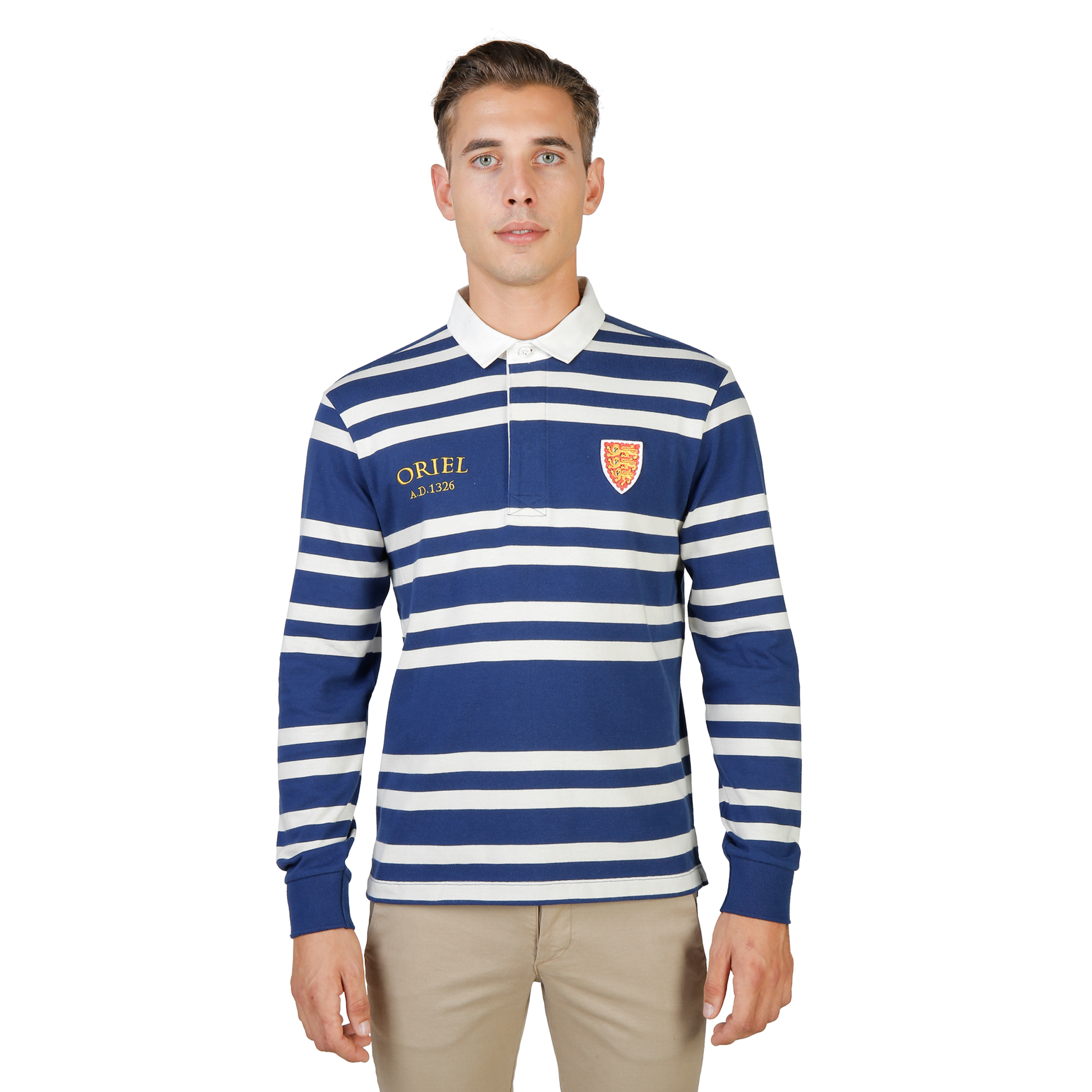 Oxford University ORIEL-RUGBY-ML Uomo Blu 74058