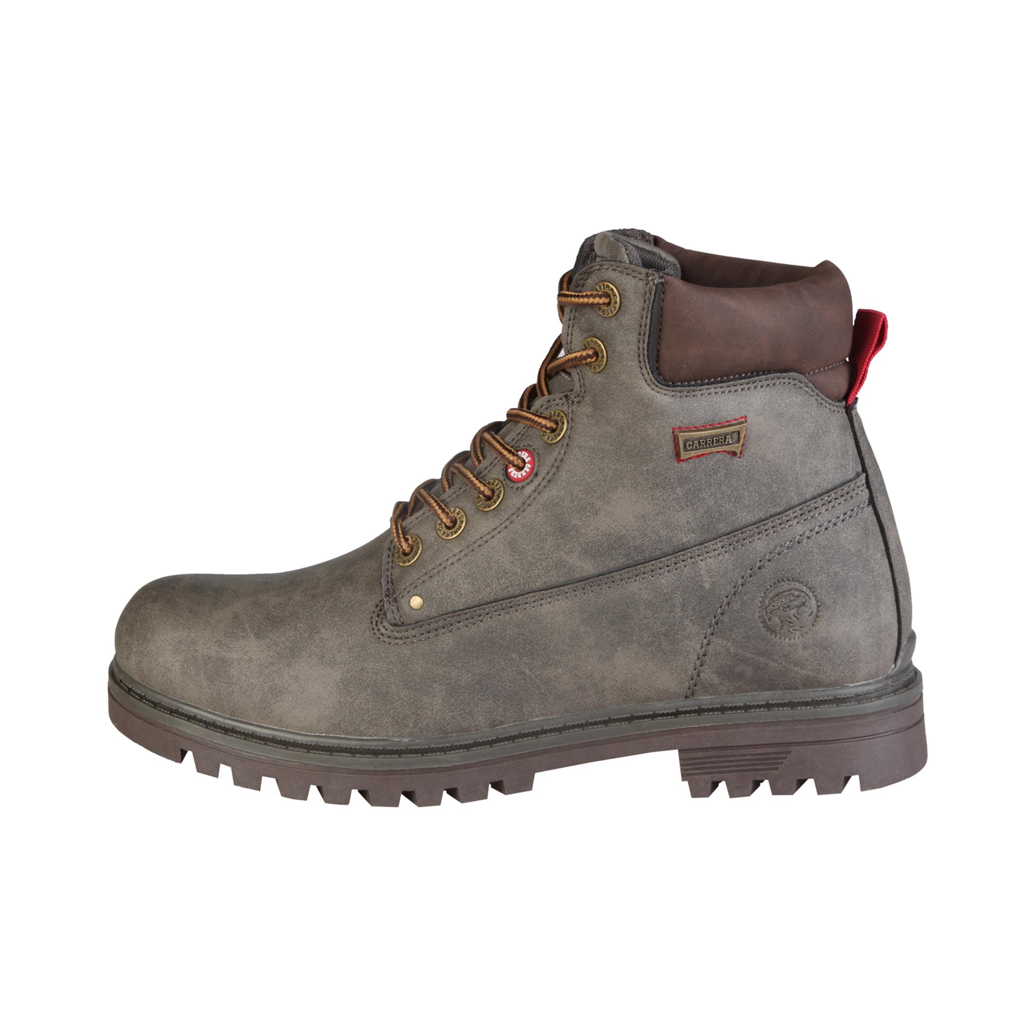 Carrera Jeans  - Botas altas con cordones y cuello acolchado  - Empeine: eco-cuero  - Ojetes metálic
