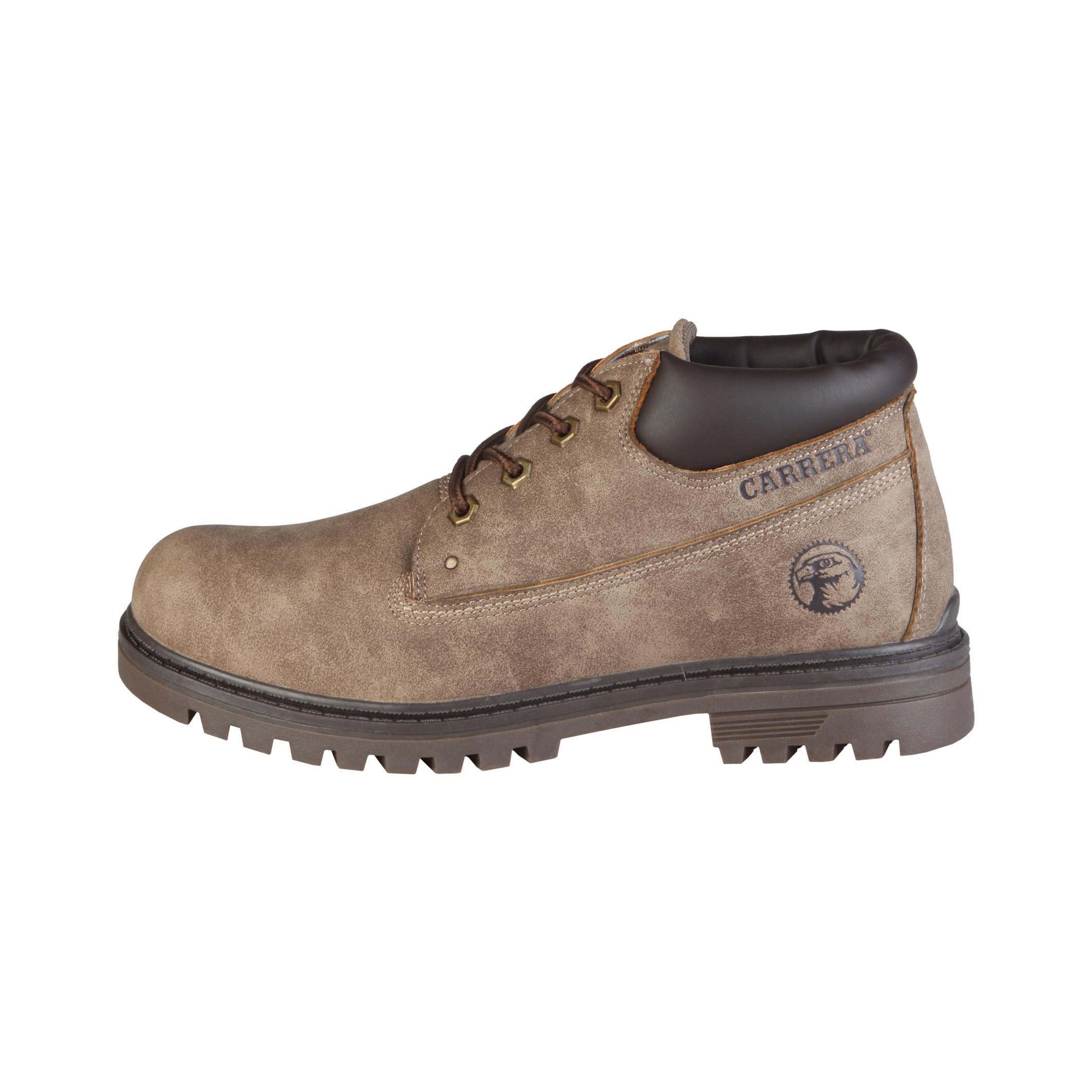 Carrera Jeans  - Botas bajas con cordones y cuello acolchado  - Empeine: eco-cuero  - Ojetes metálic