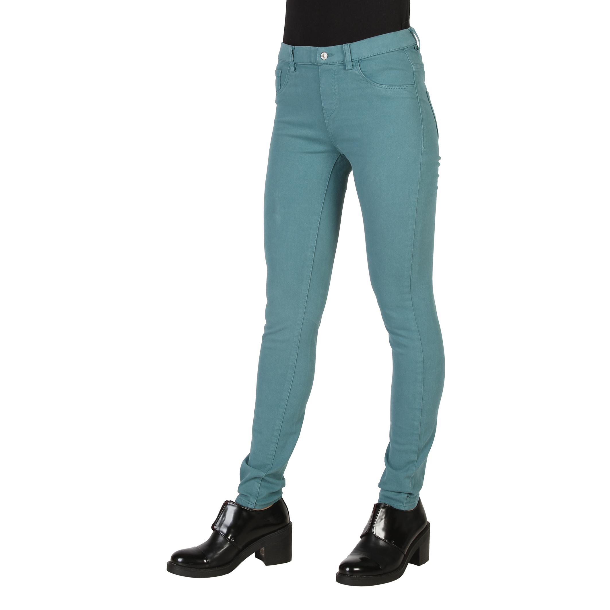 Vaqueros-Carrera-Jeans-00767L-922SS-Mujer-Gris-Verde