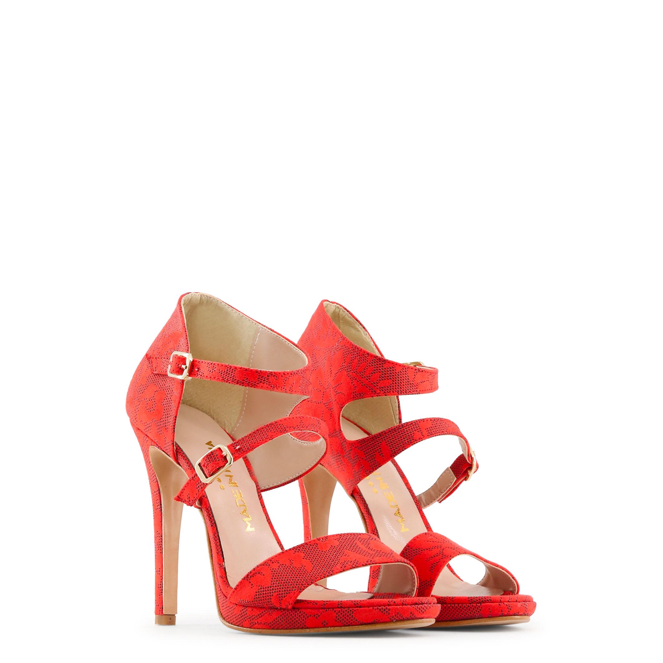 Scarpe Made in Italia Donna IRIDE Sandali Rosso/Nero Primavera/Estate