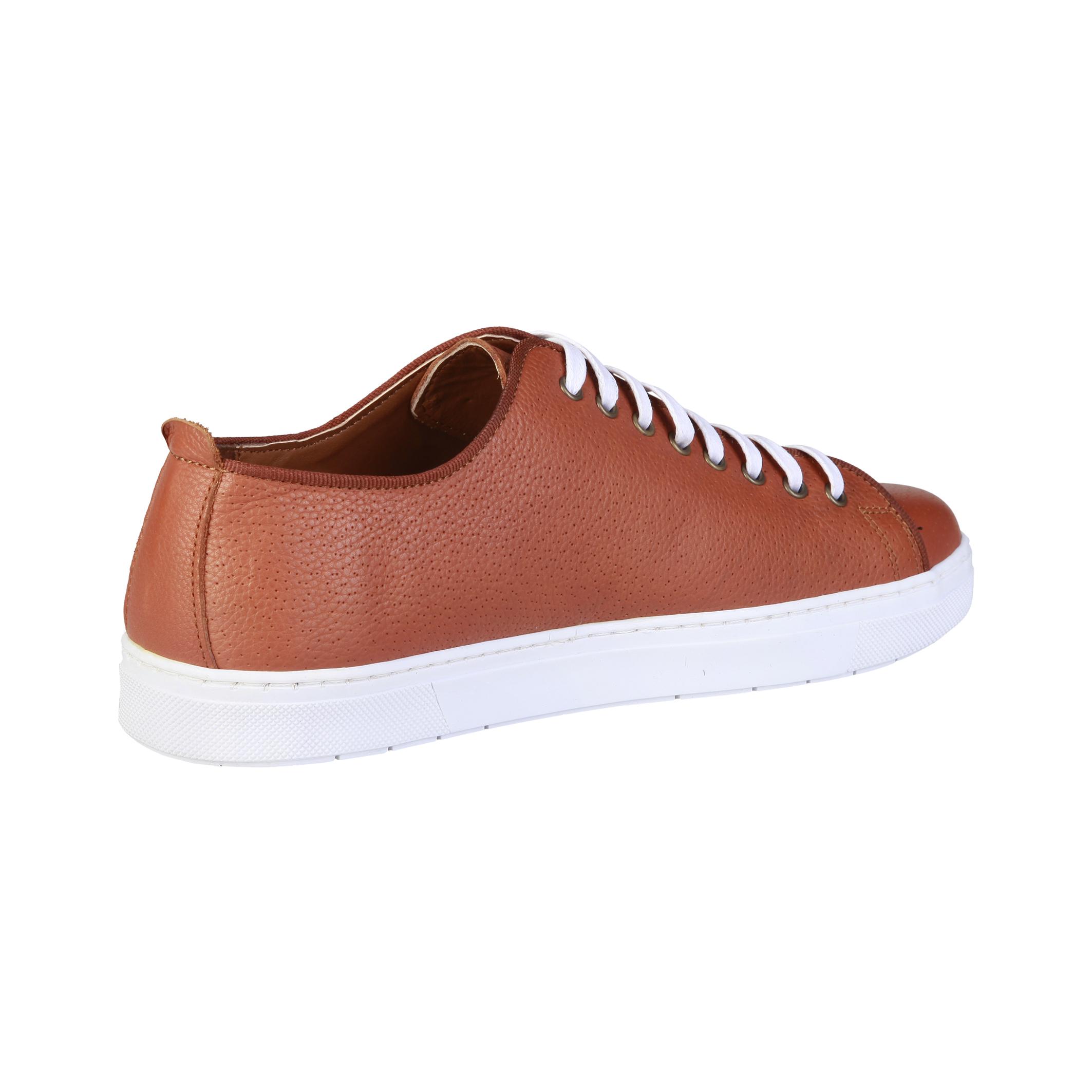 Sneakers-Pierre-Cardin-CLEMENT-Uomo-Marrone-81928 miniatura 3