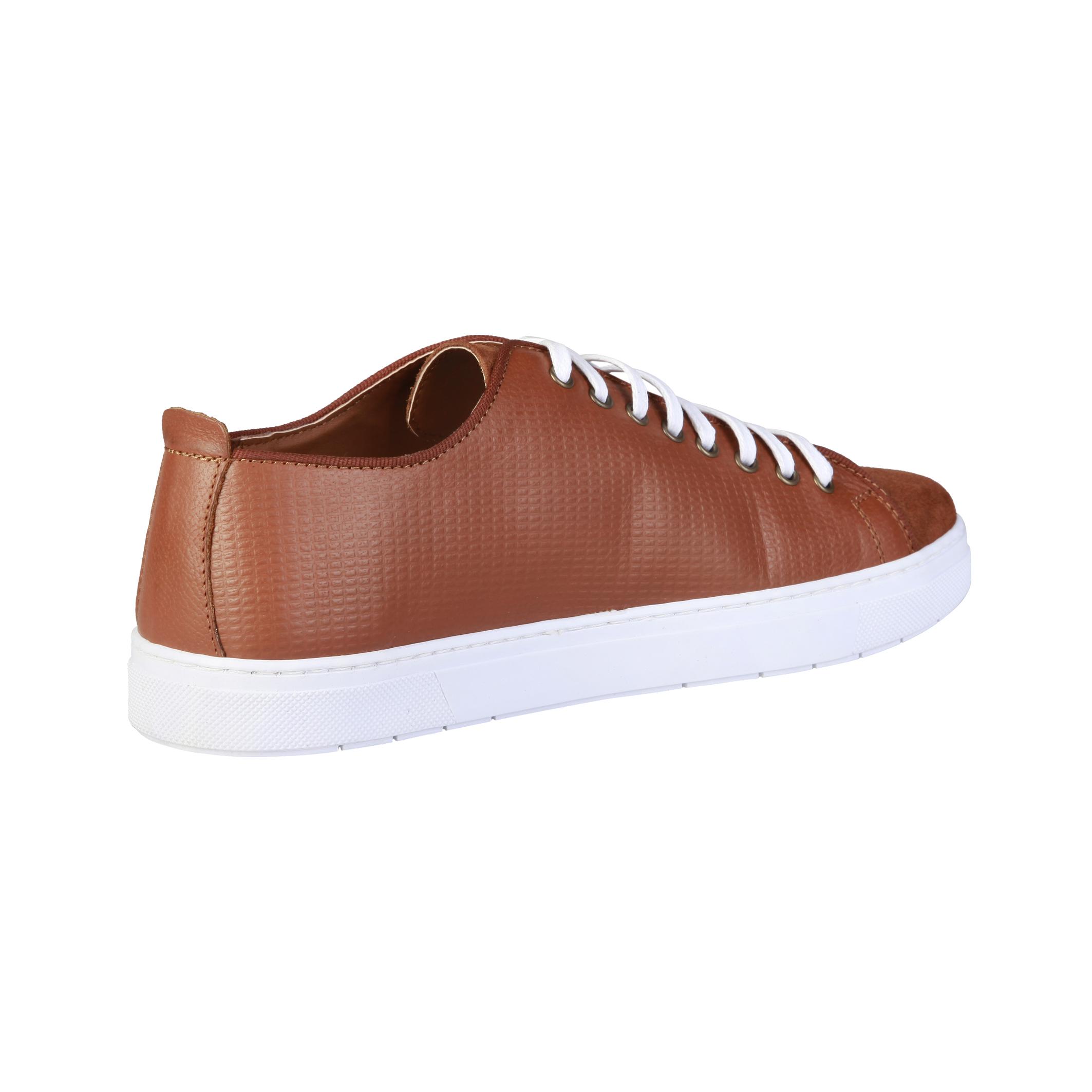 Sneakers-Pierre-Cardin-EDGARD-Uomo-Marrone-81933 miniatura 3