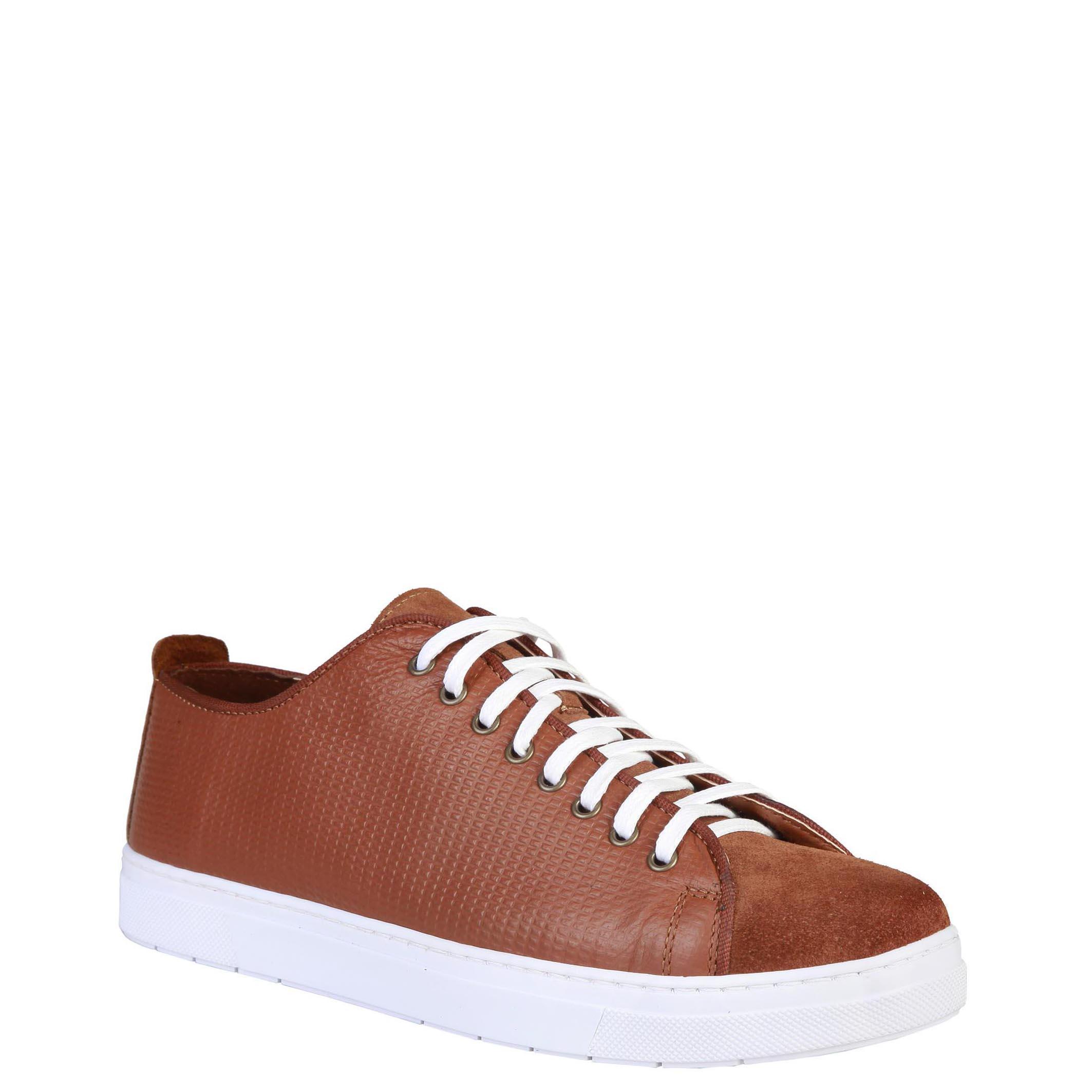 Sneakers-Pierre-Cardin-EDGARD-Uomo-Marrone-81933 miniatura 2