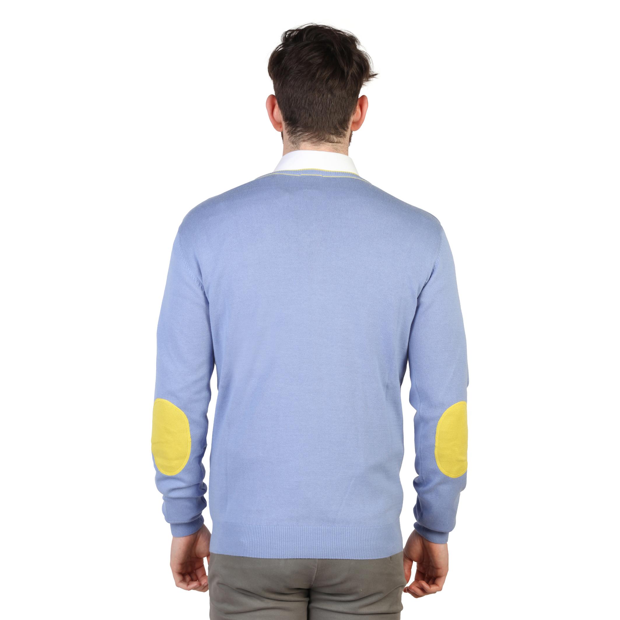 Pulls-U-S-Polo-Homme-42353-50357-Rouge-Bleu-Bleu