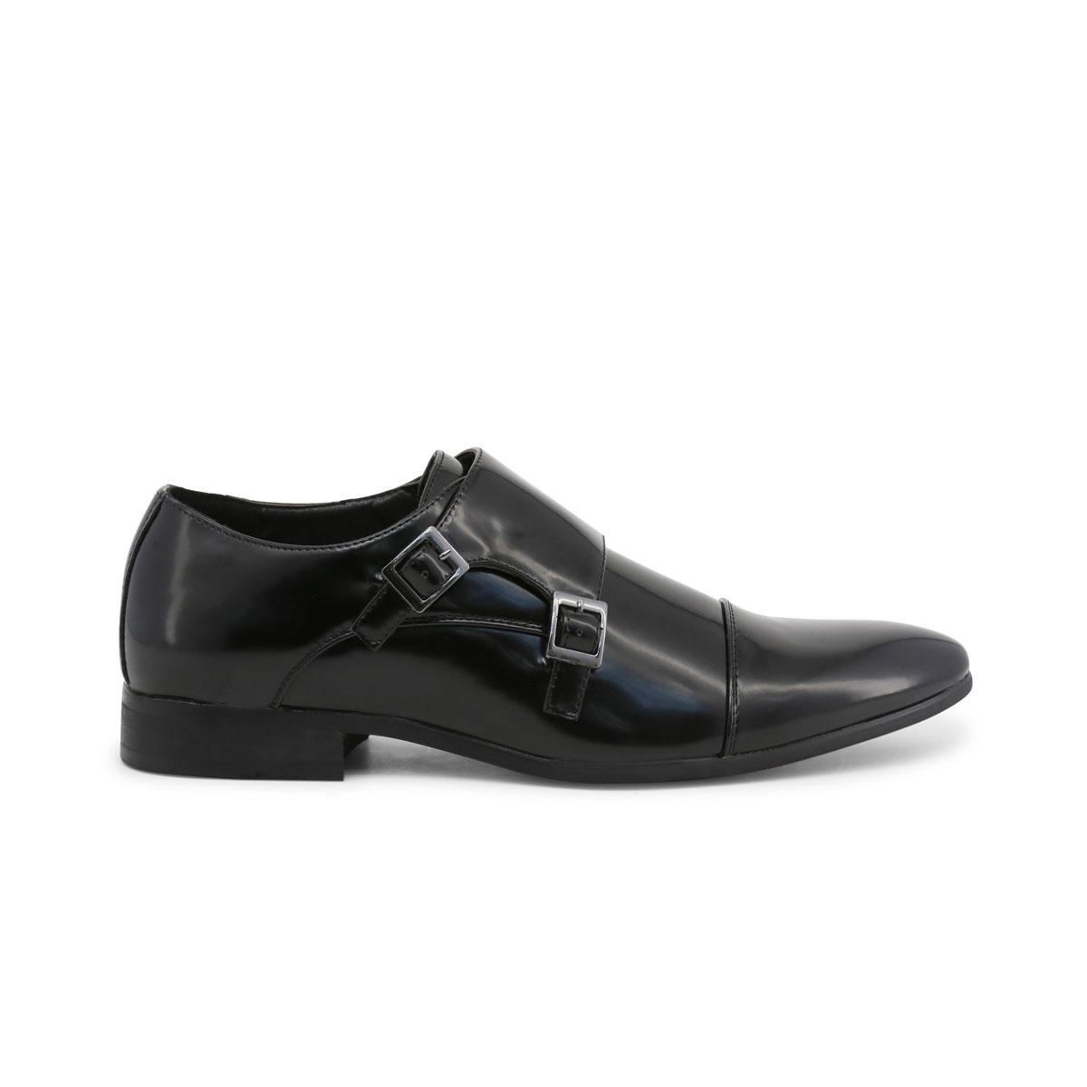 Scarpe-basse-Duca-di-Morrone-JAMES-Uomo-Nero-82355 miniatura 2
