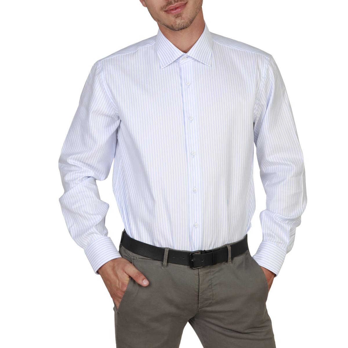 Camicie Trussardi 32C03RINT Uomo Blu 82692