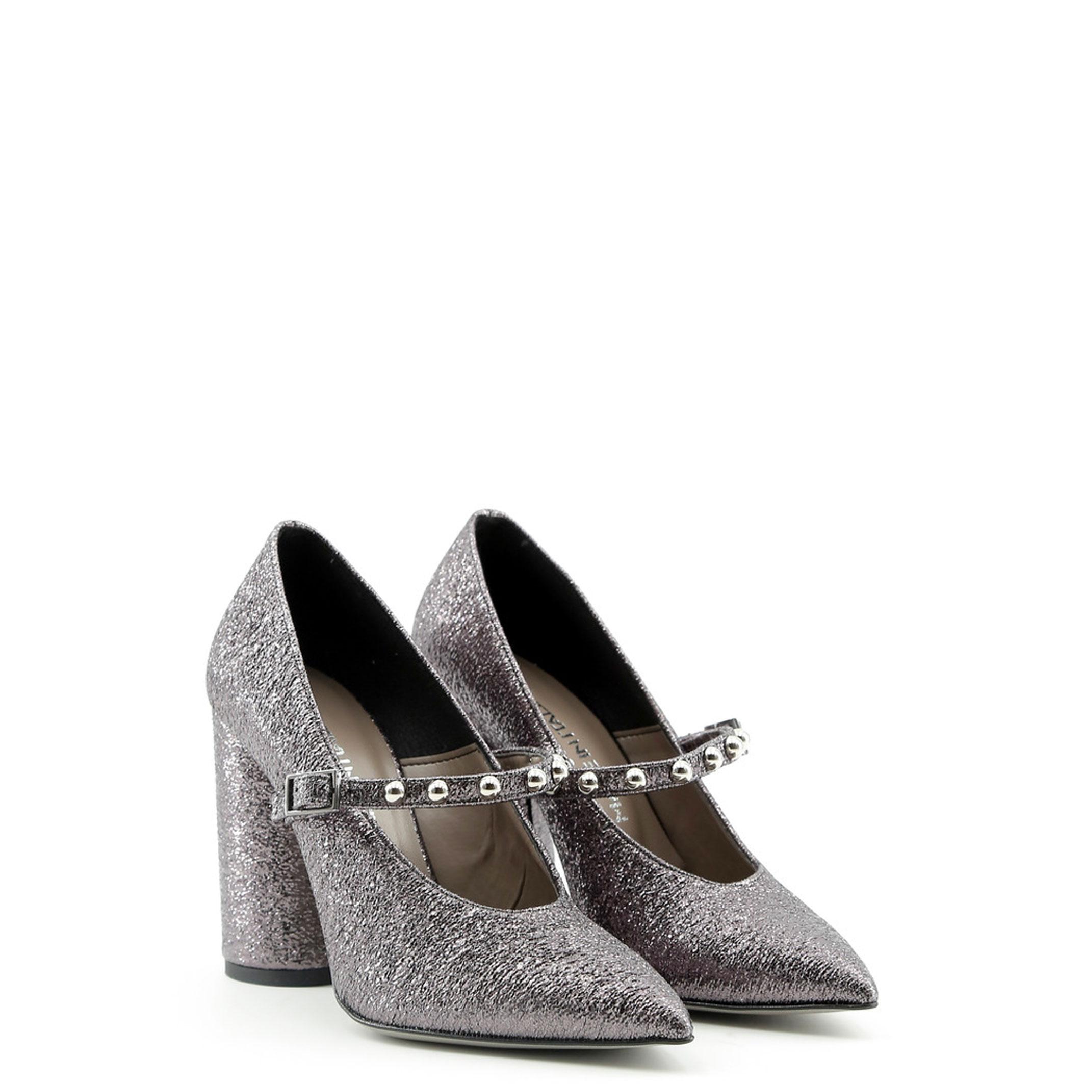 Schuhe AMELIA, Damen High High Damen Heels Grau/Schwarz pumps hochzeit 954815